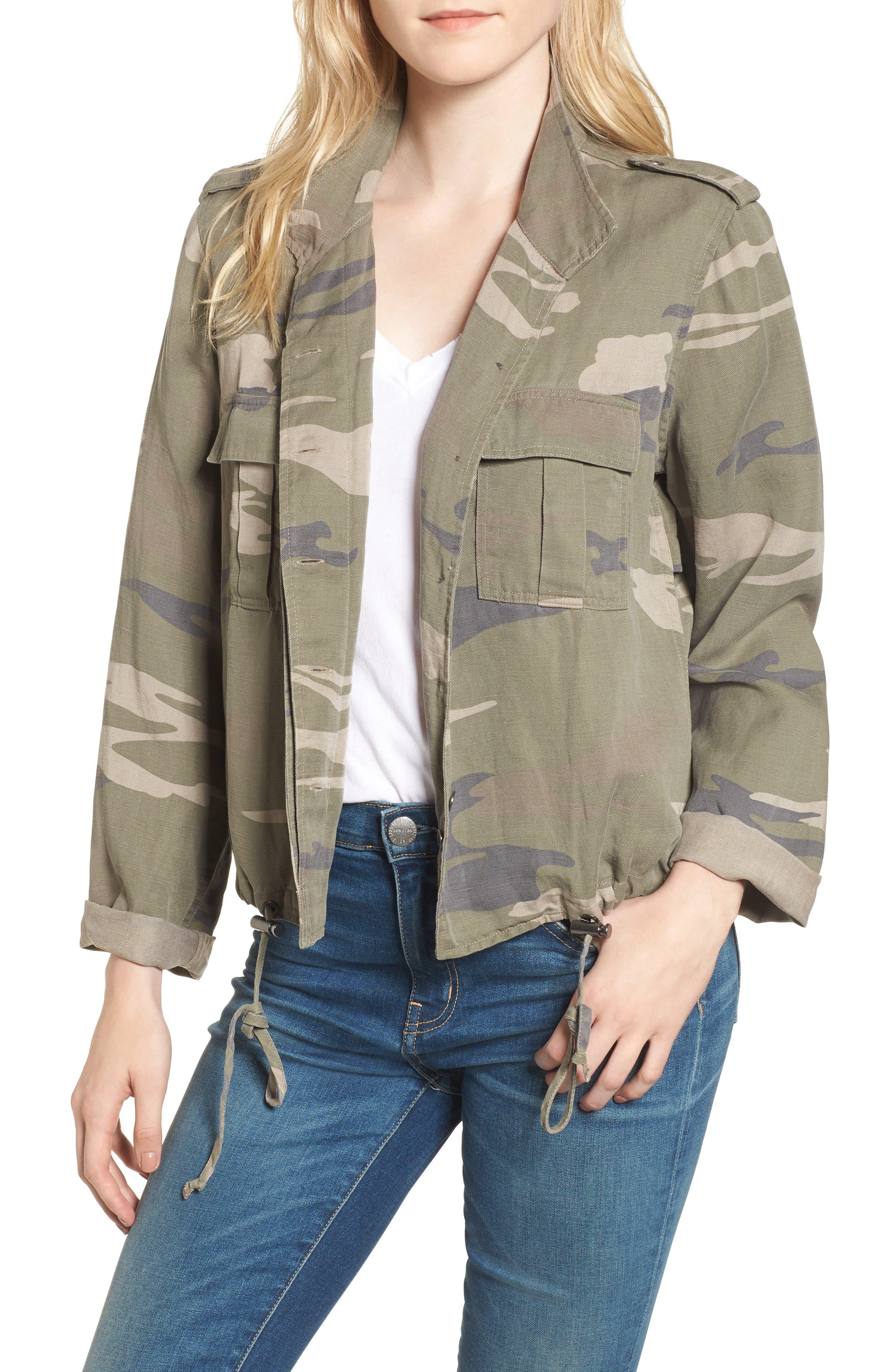 Maverick Camo Jacket,                         Main,                         color, Sage Camo