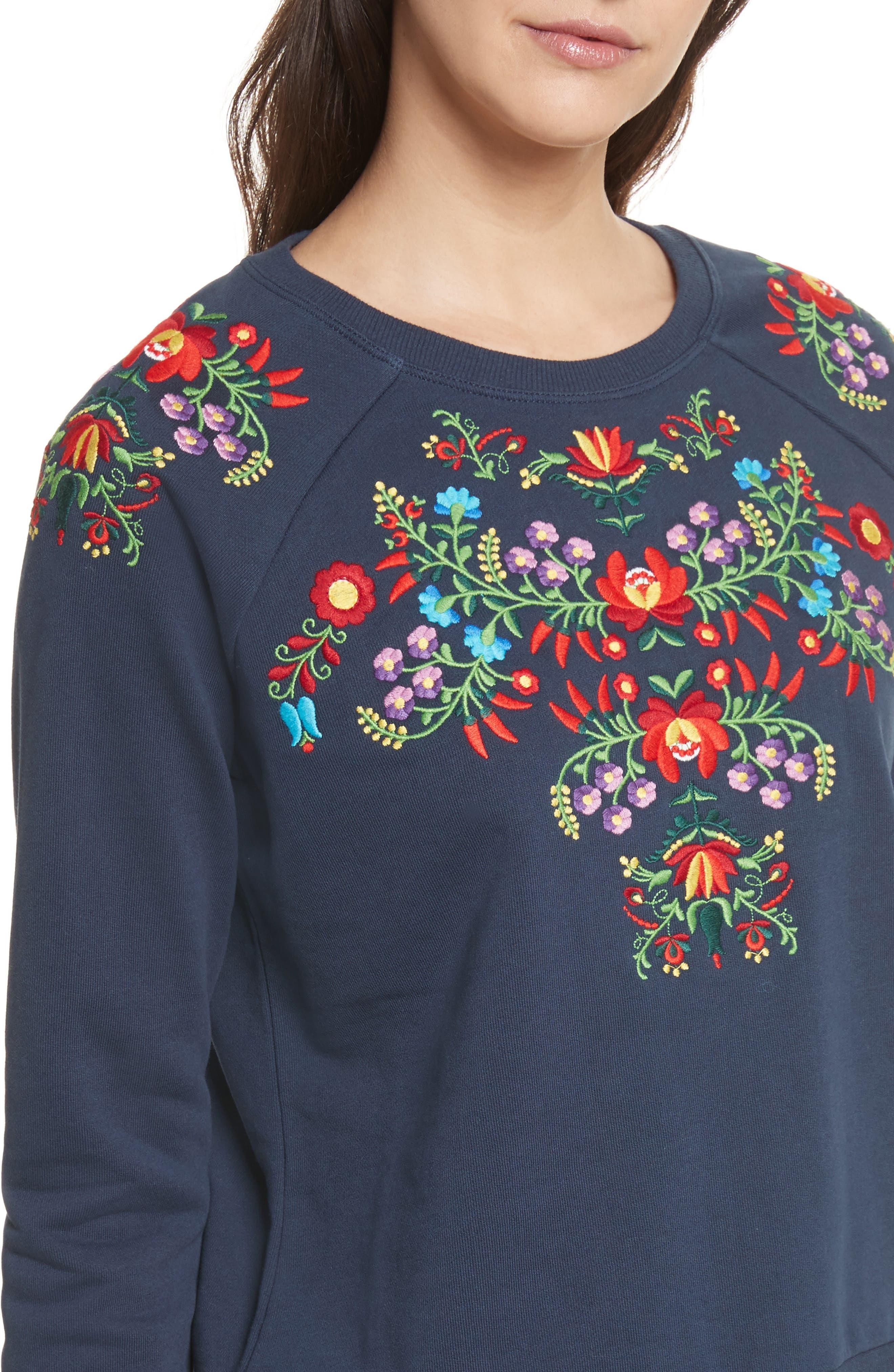 Alternate Image 4  - Rebecca Minkoff Jennings Sweatshirt