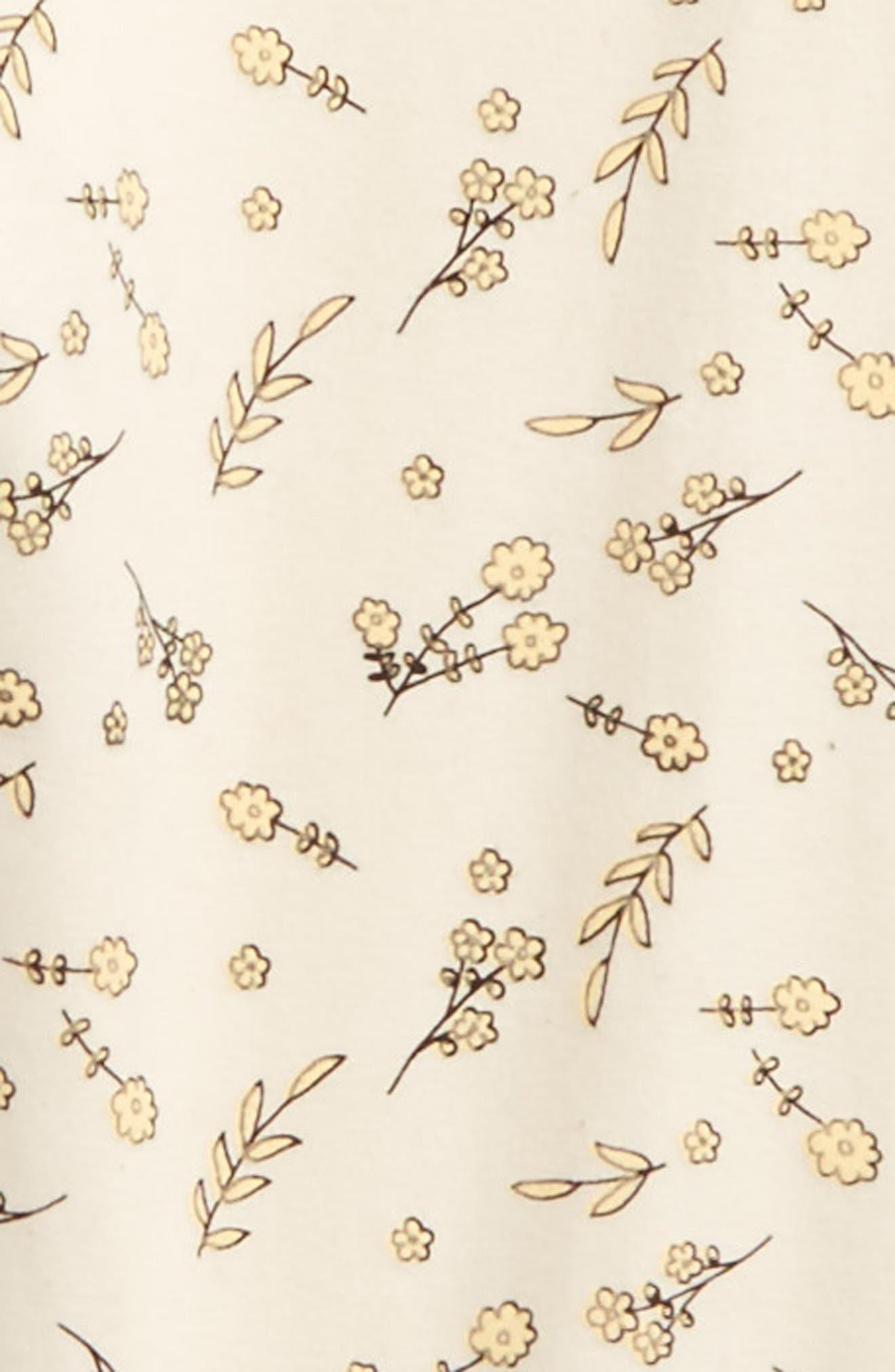 Alternate Image 2  - For Love & Lemons Print Drawstring Leggings (Toddler Girls & Little Girls)