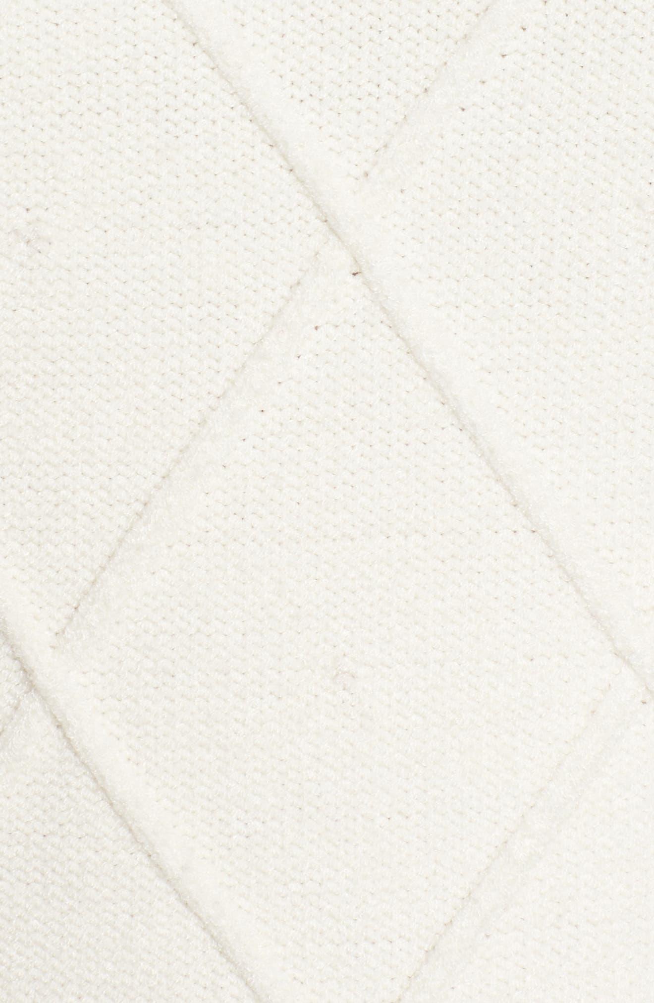 Alternate Image 5  - Draper James Argyle Dot Sweater
