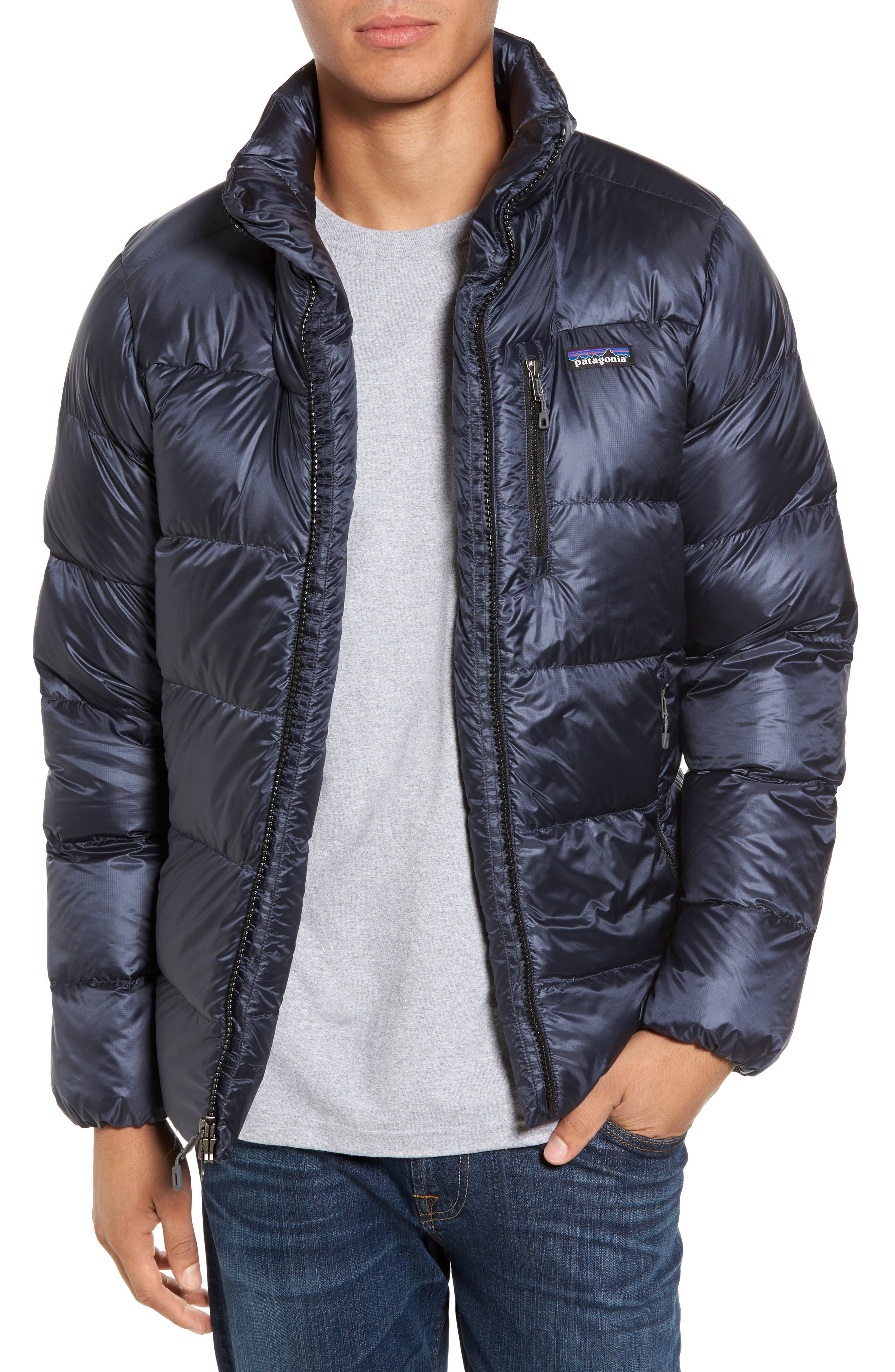 Alternate Image 1 Selected - Patagonia Fitz Roy Water Repellent 800-Fill-Power Down Parka