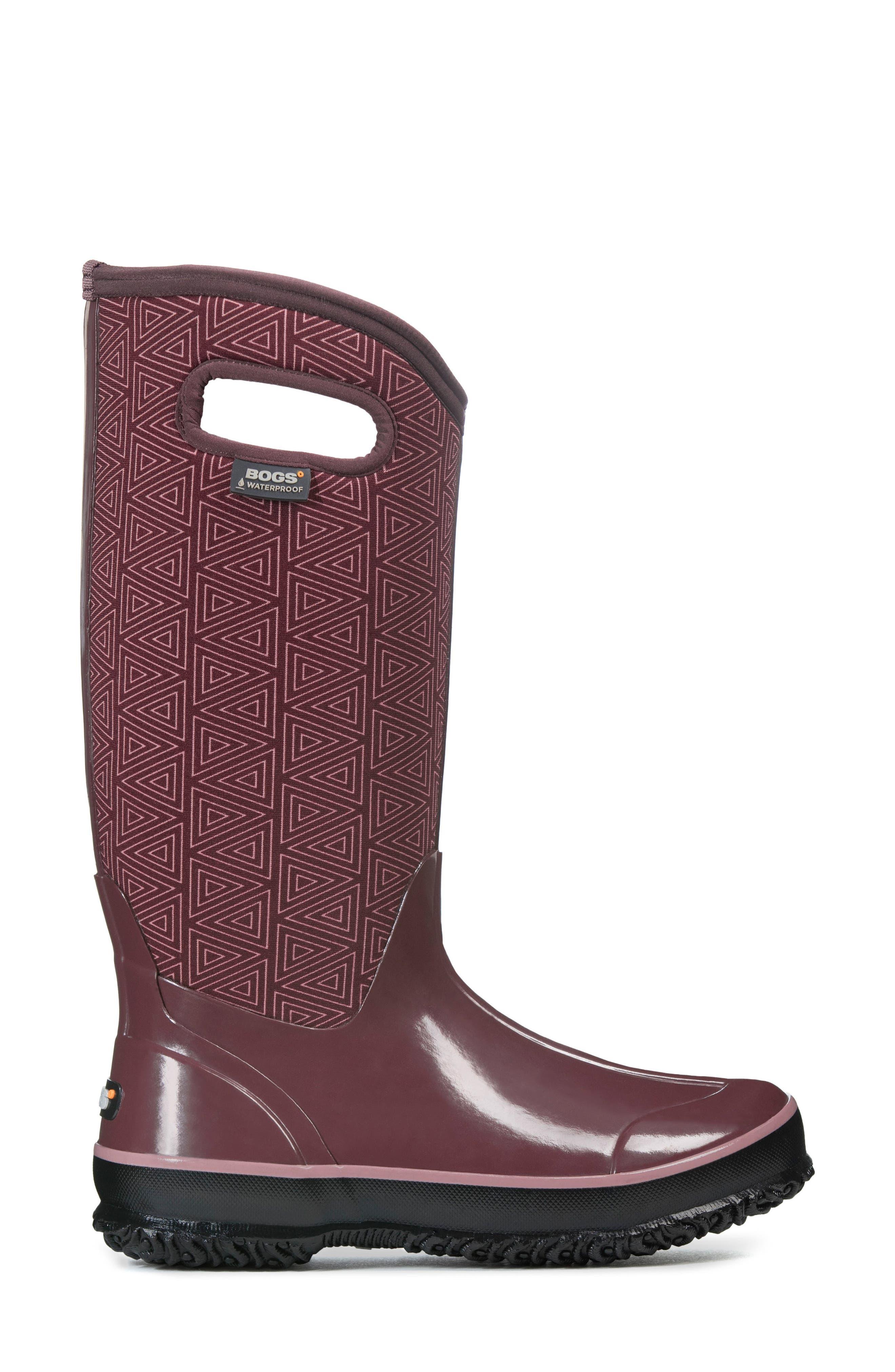 Alternate Image 3  - Bogs Classic Triangles Waterproof Subzero Insulated Boot (Women)