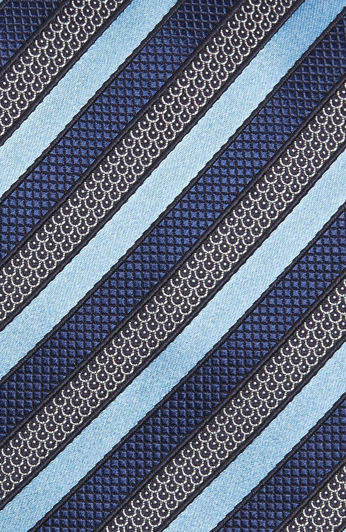 Alternate Image 2  - Ermenegildo Zegna Stripe Silk Tie