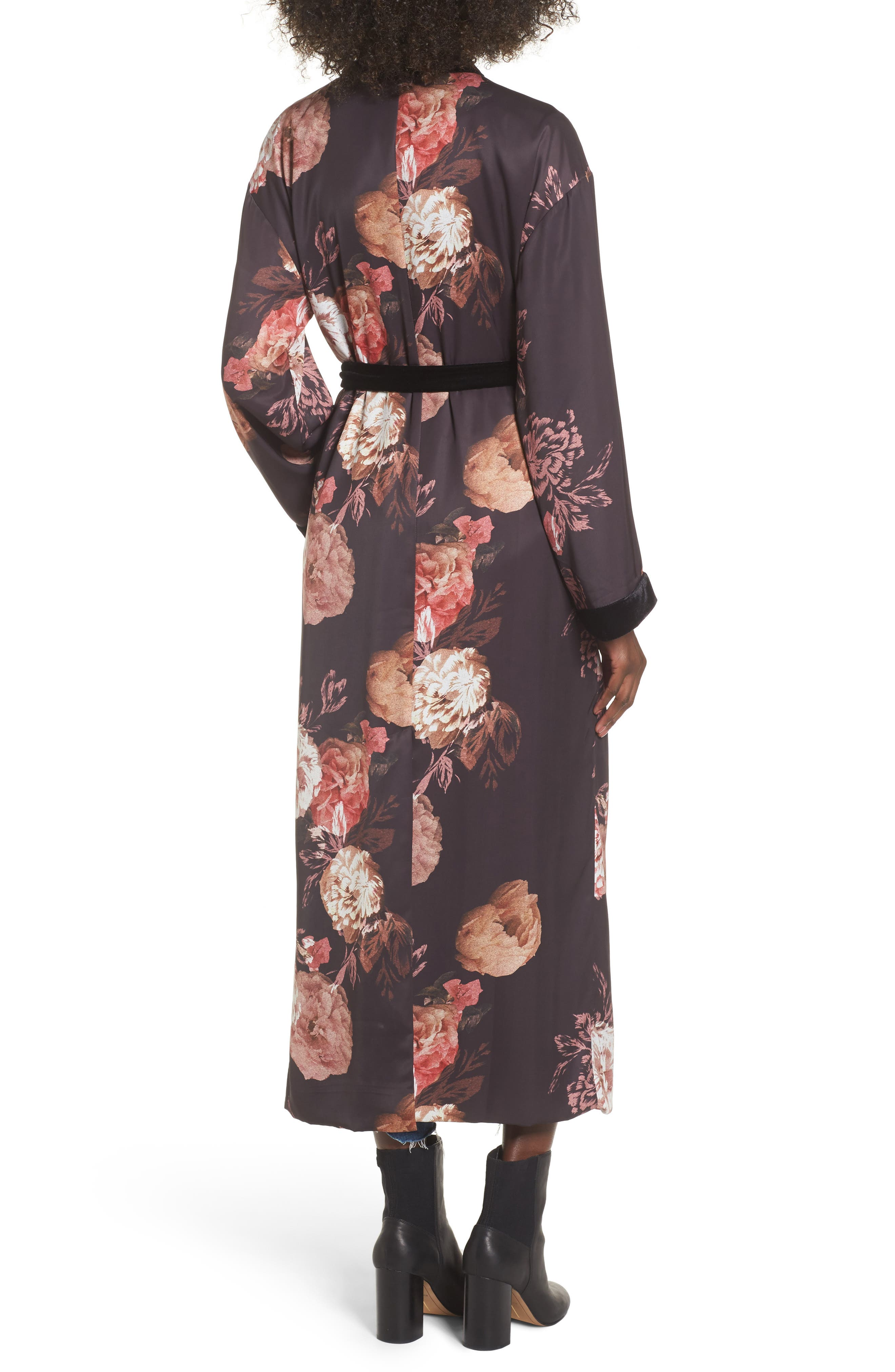 Floral Kimono,                             Alternate thumbnail 2, color,                             Victorian Floral