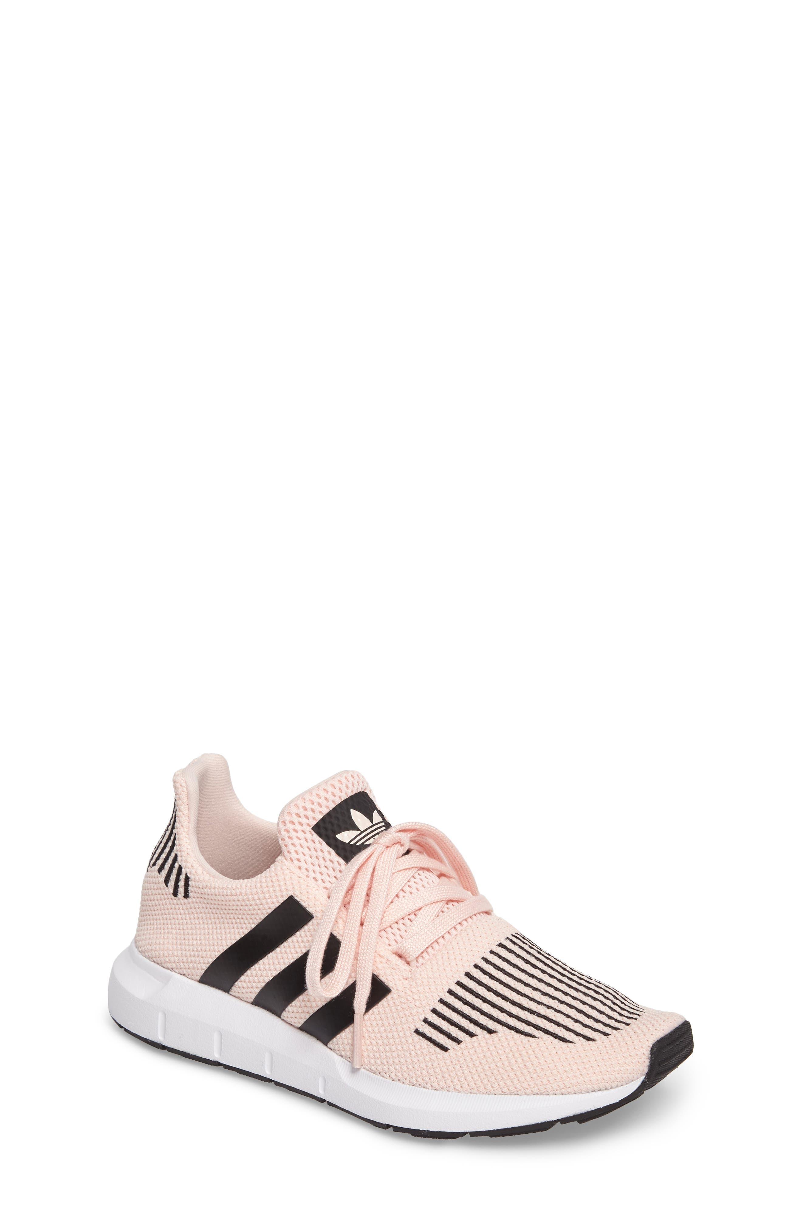 Alternate Image 1 Selected - adidas Swift Run J Sneaker (Baby, Walker, Toddler, Little Kid & Big Kid)