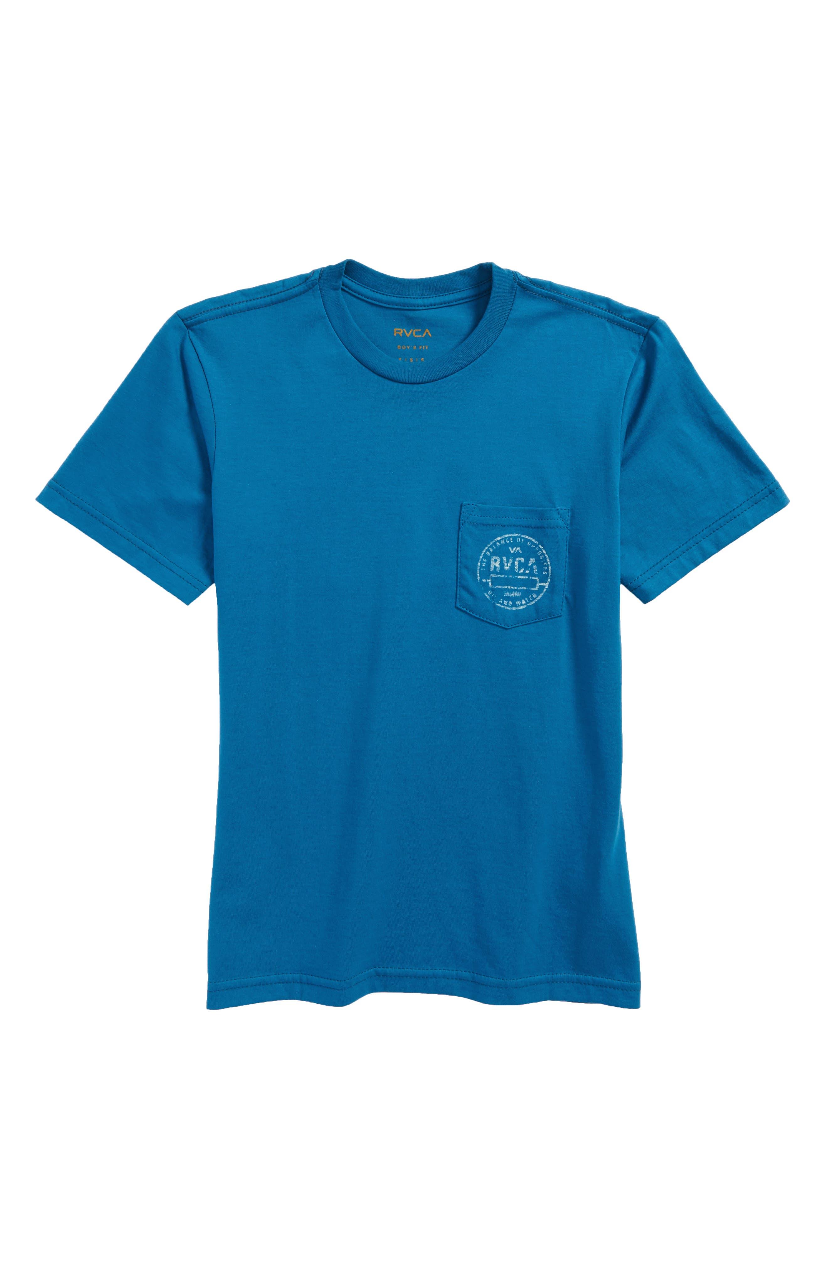 RVCA Stamp Pocket T-Shirt (Big Boys)