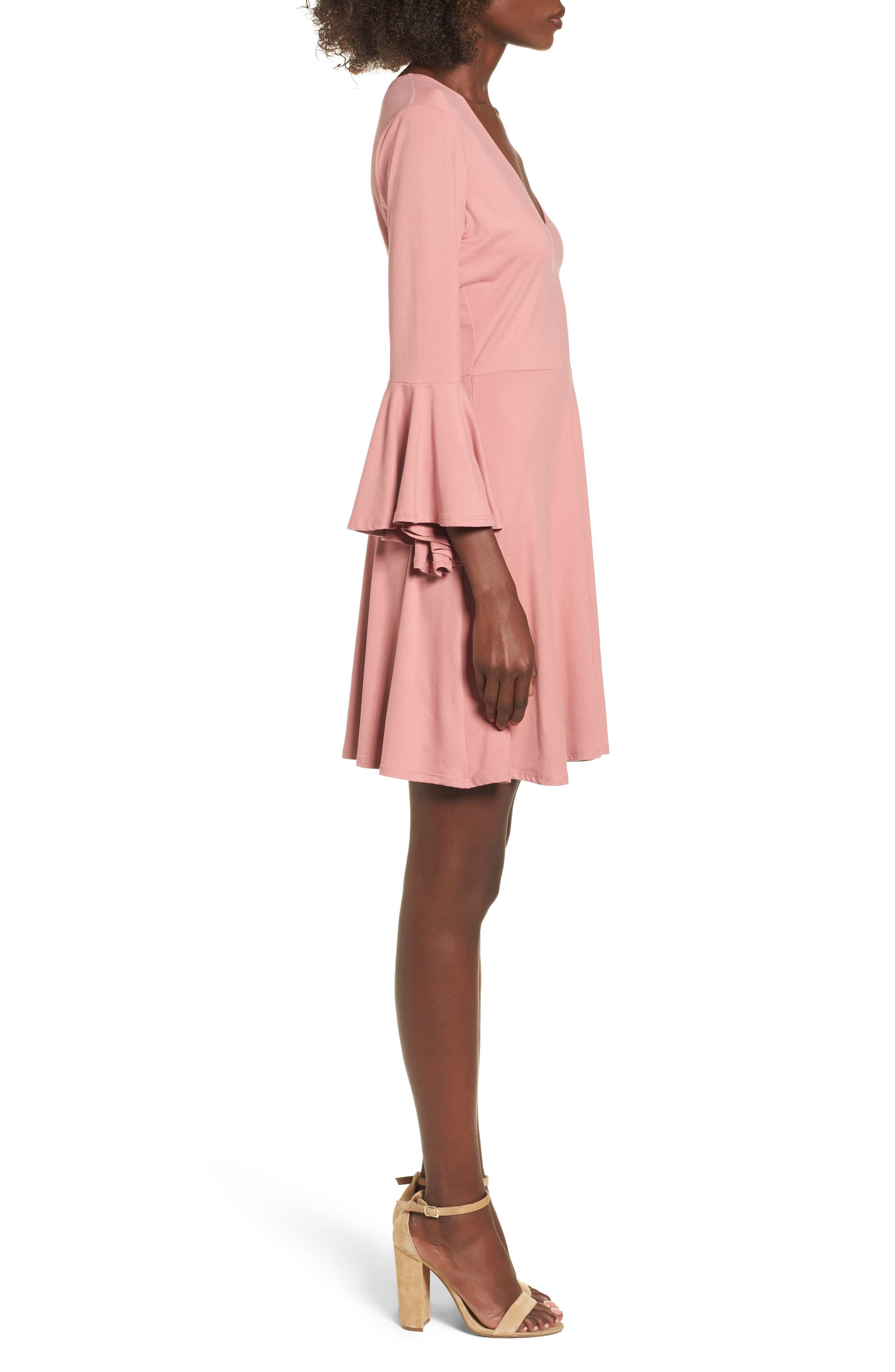 Alternate Image 3  - Socialite Bell Sleeve Knit Dress