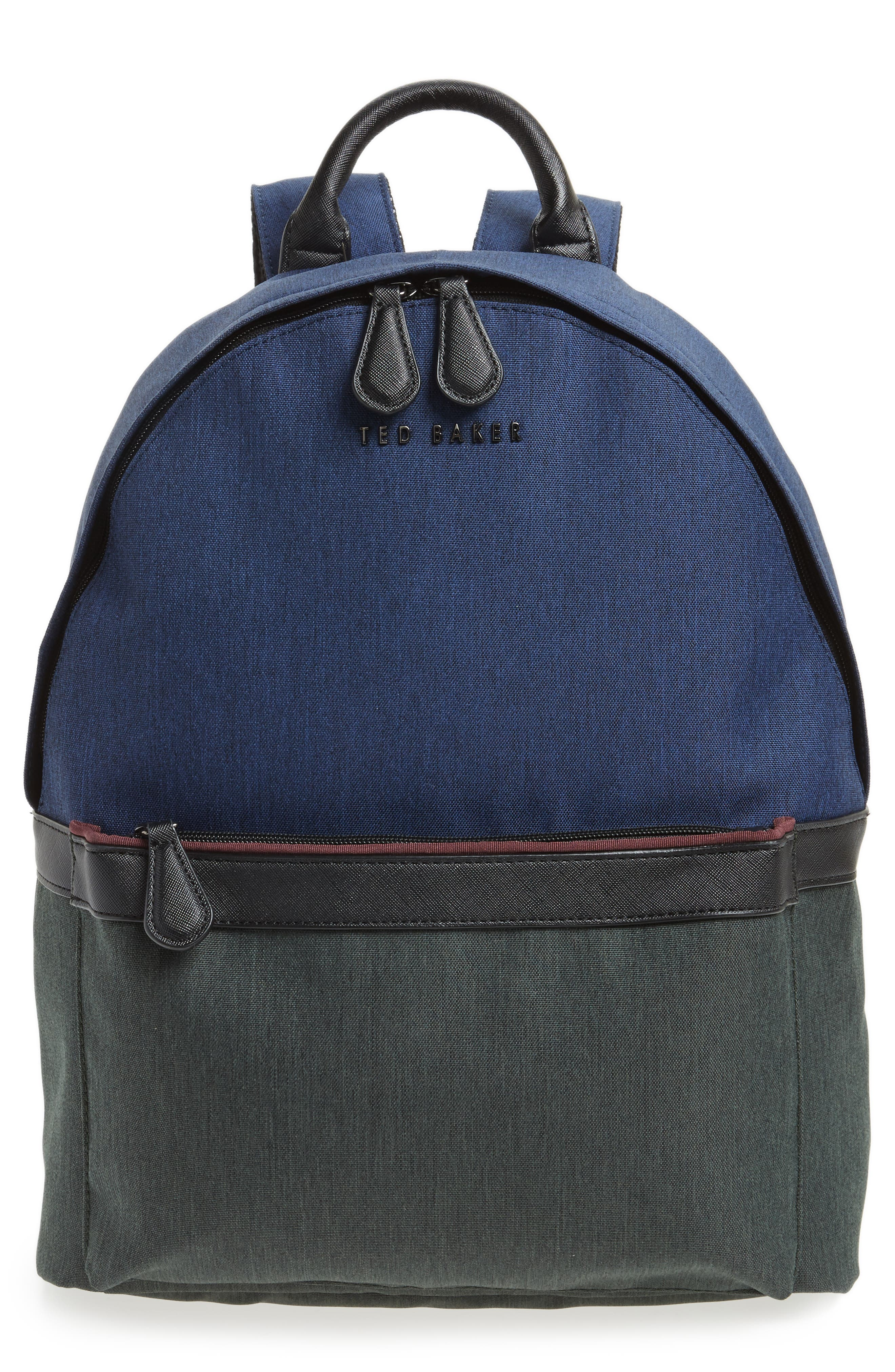 Zirabi Backpack,                         Main,                         color, Blue