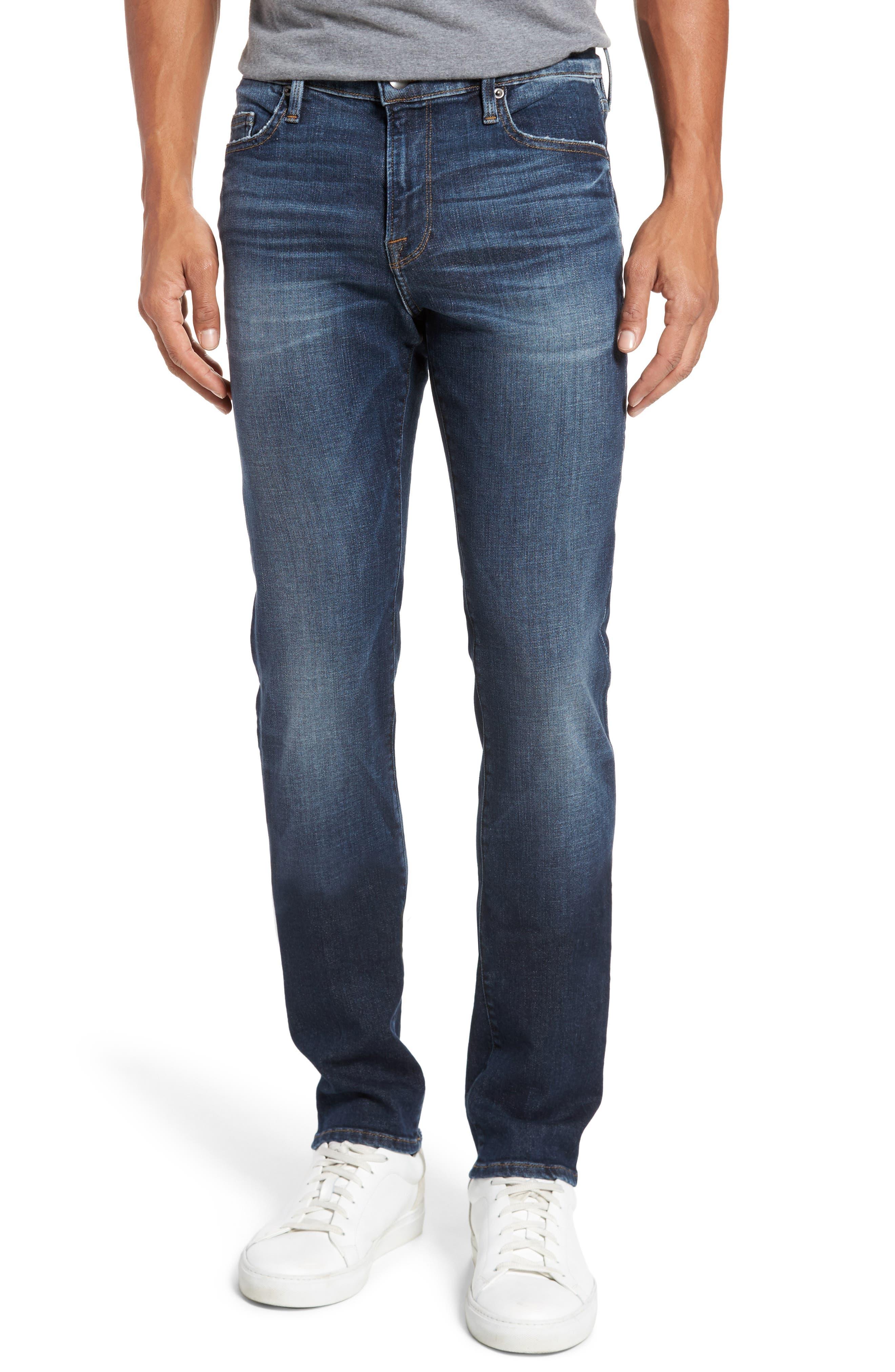 FRAME L'Homme Skinny Fit Jeans (Mead)