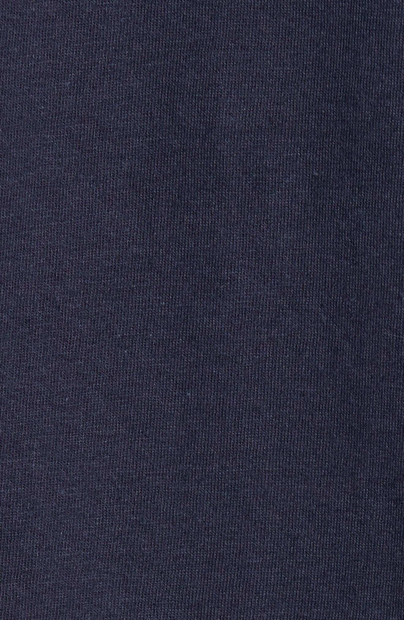 Sea Graphic T-Shirt,                             Alternate thumbnail 5, color,                             Navy