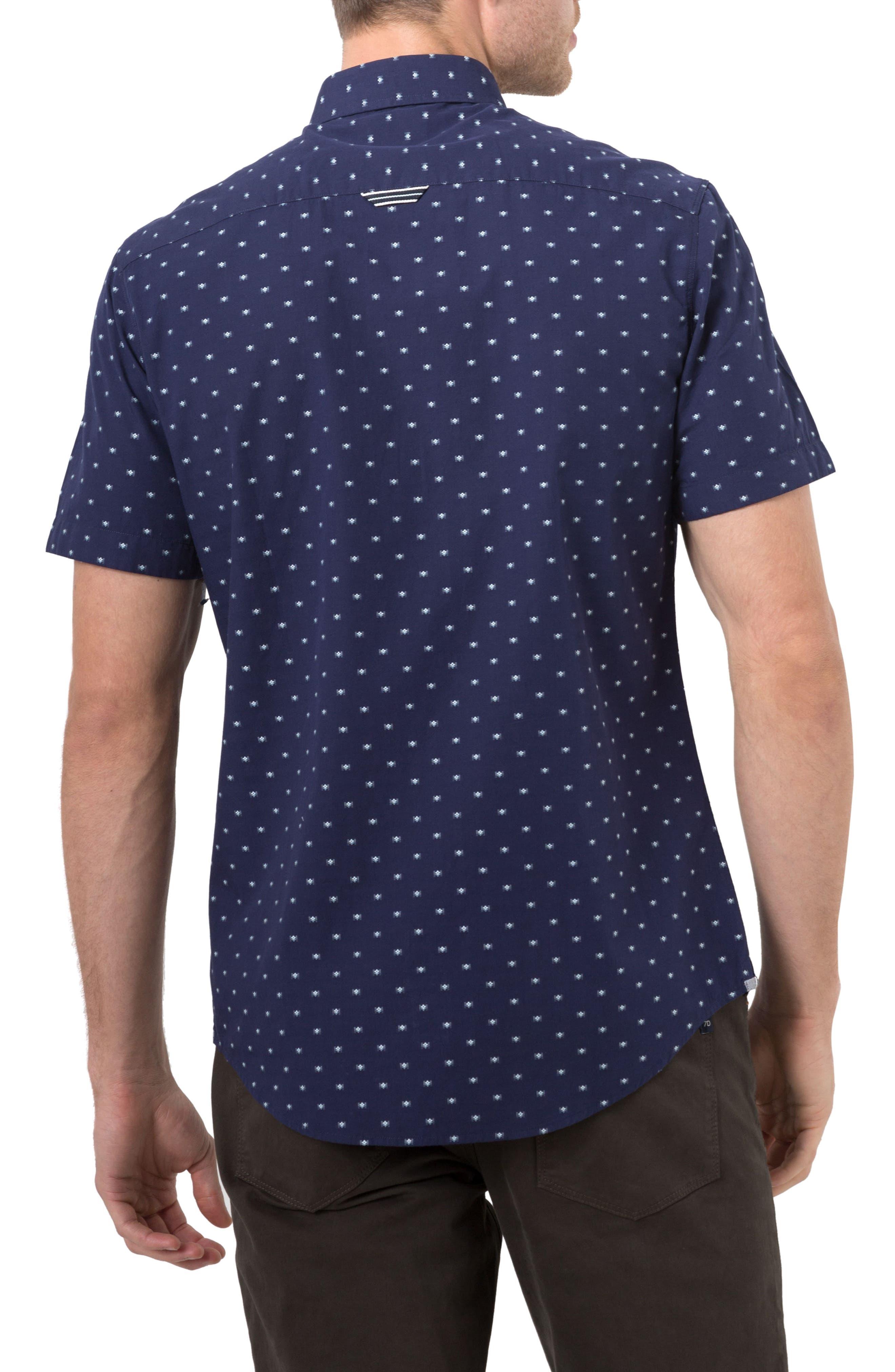 Alternate Image 2  - 7 Diamonds Star Quality Dobby Woven Shirt