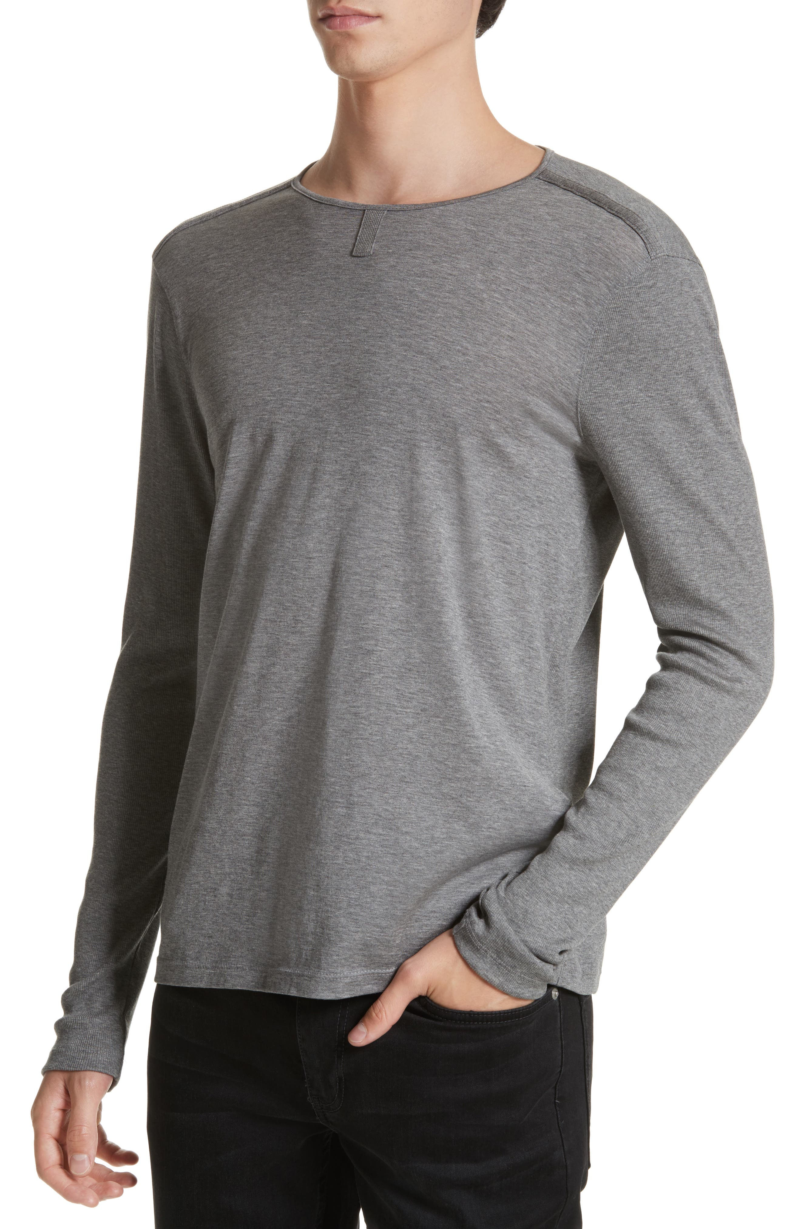 Alternate Image 4  - John Varvatos Collection Tab Crewneck T-Shirt