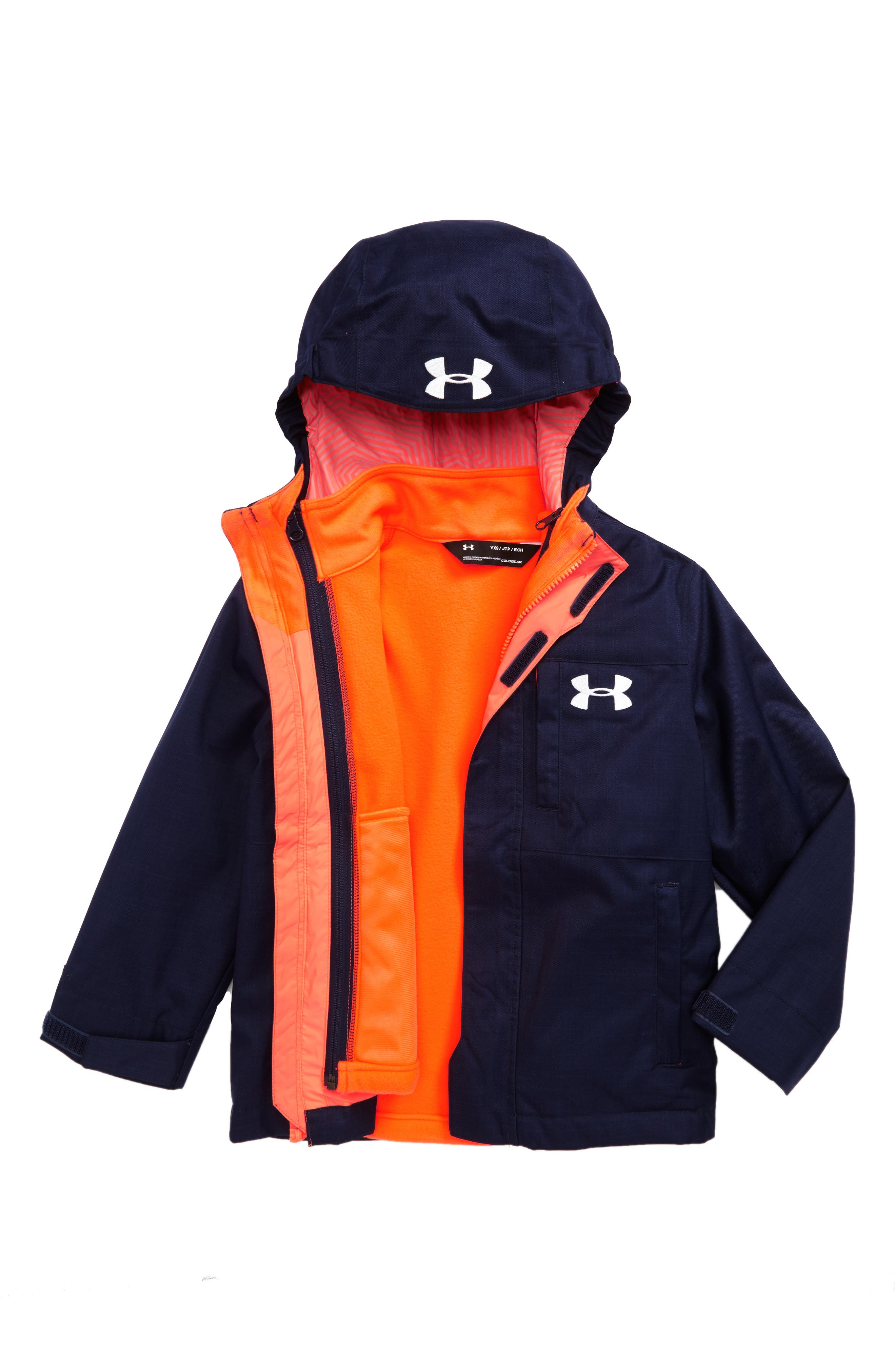 Alternate Image 1 Selected - Under Armour Wildwood ColdGear® 3-in-1 Jacket (Little Boys & Big Boys)