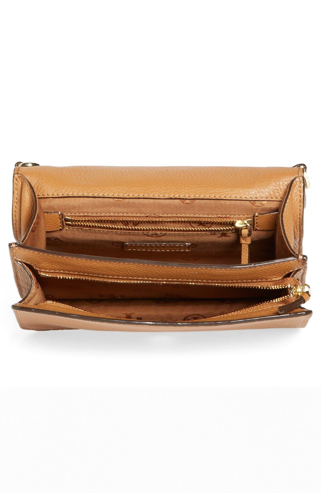 Alternate Image 4  - Tory Burch 'All-T' Leather Crossbody Bag