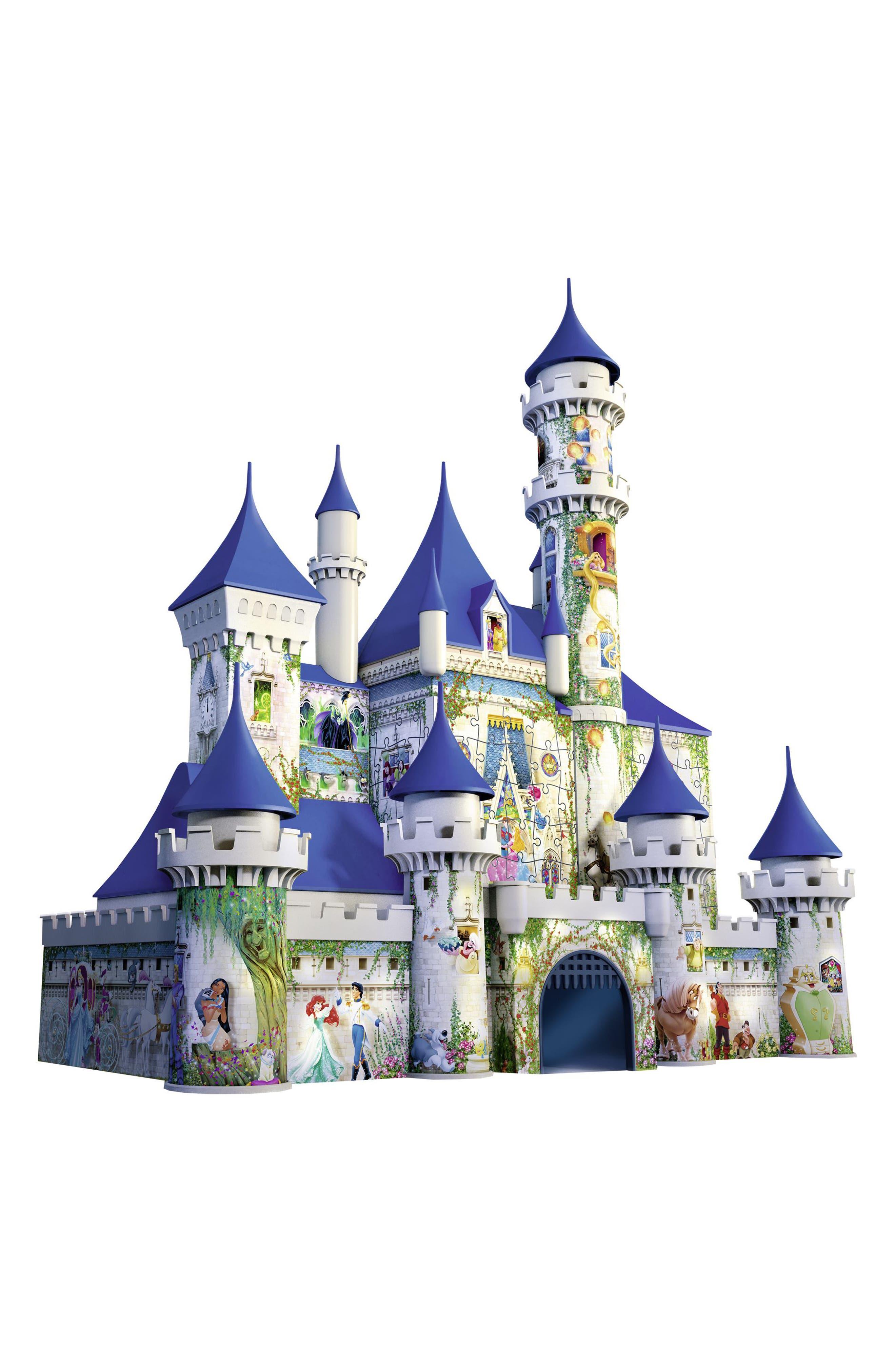 216-Piece Disney 3D Castle Puzzle,                             Alternate thumbnail 2, color,                             Multi