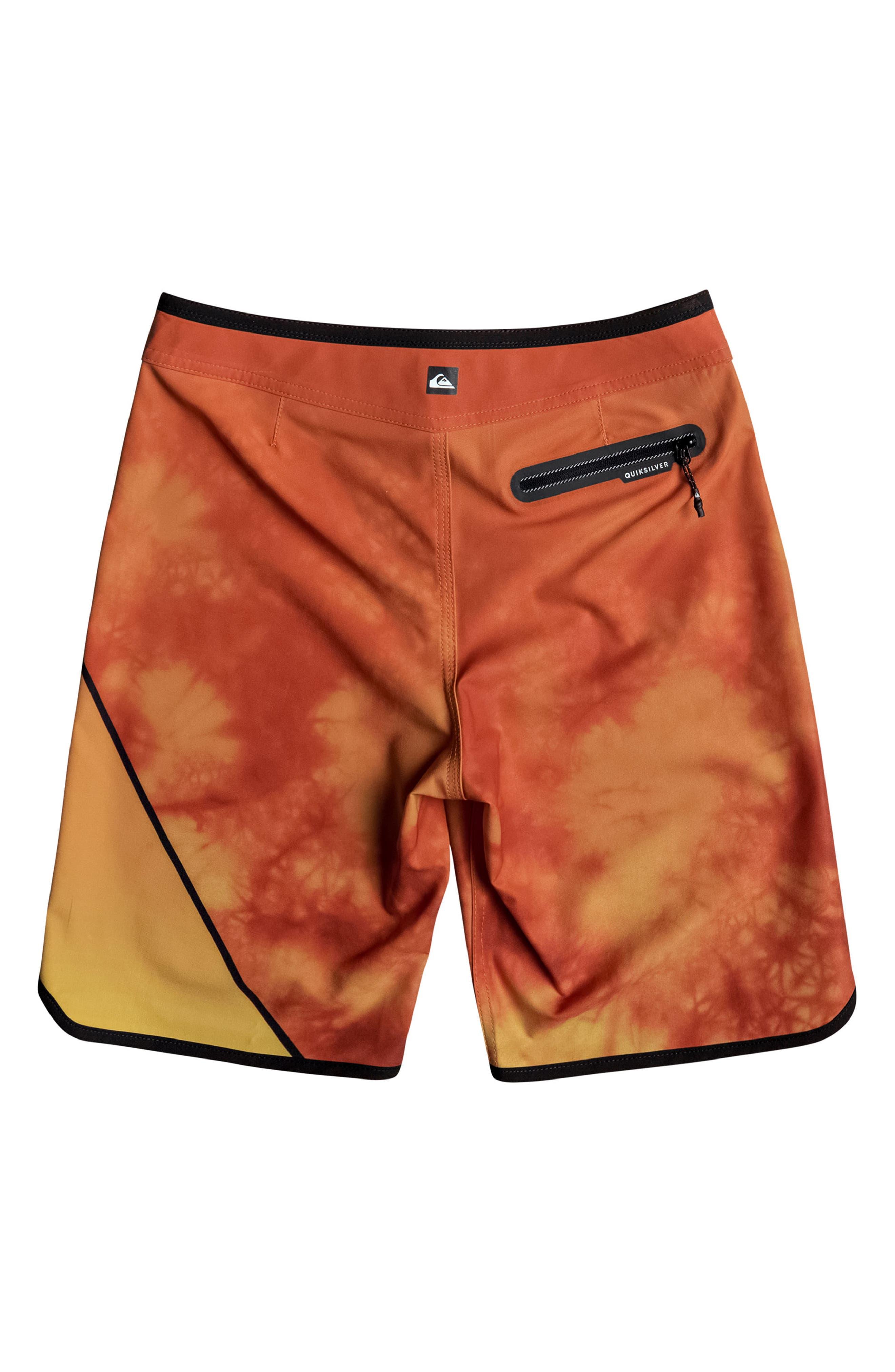 Alternate Image 2  - Quiksilver New Wave Board Shorts (Big Boys)