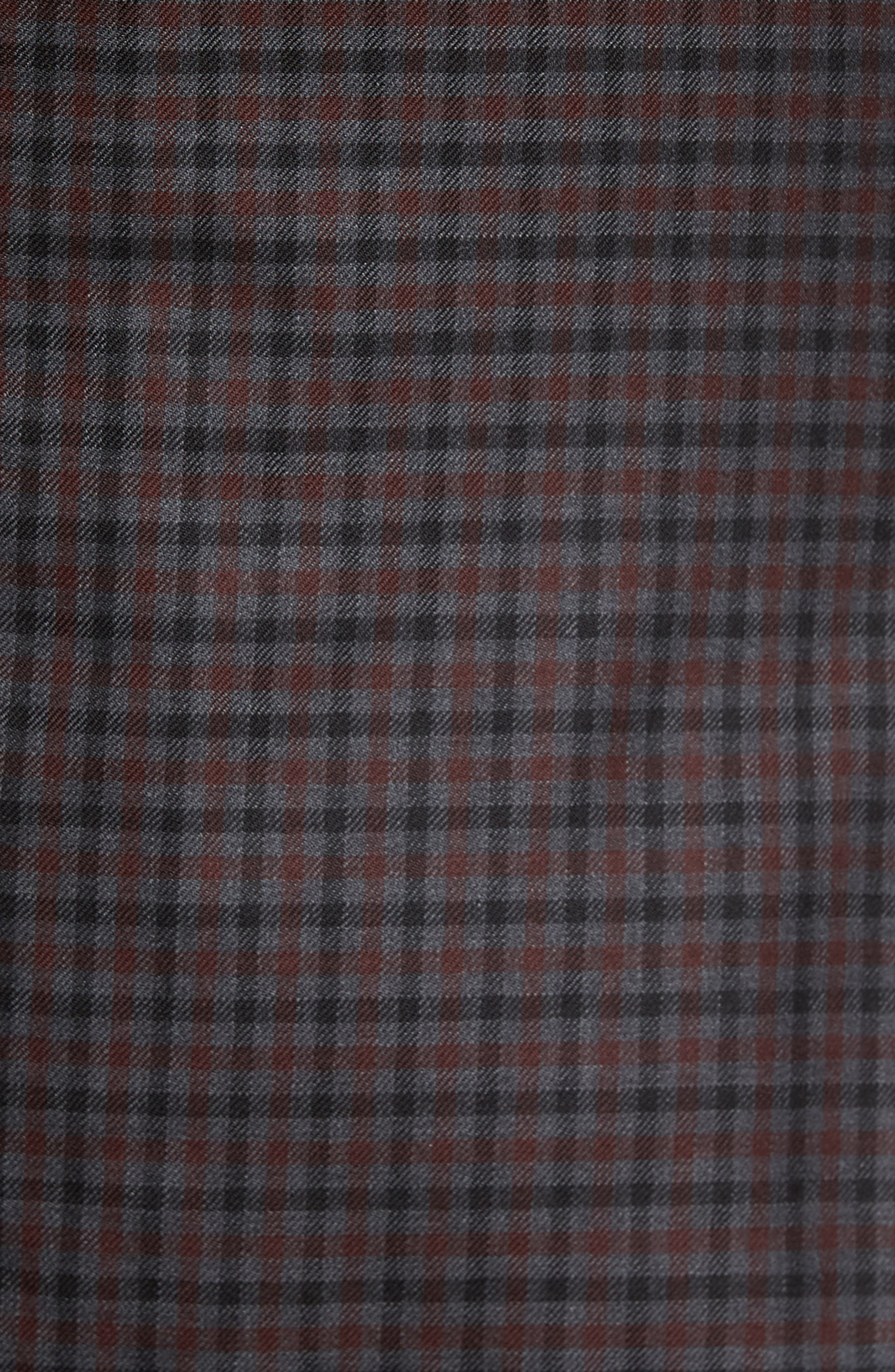 Alternate Image 5  - JB Britches Classic Fit Check Wool Sport Coat