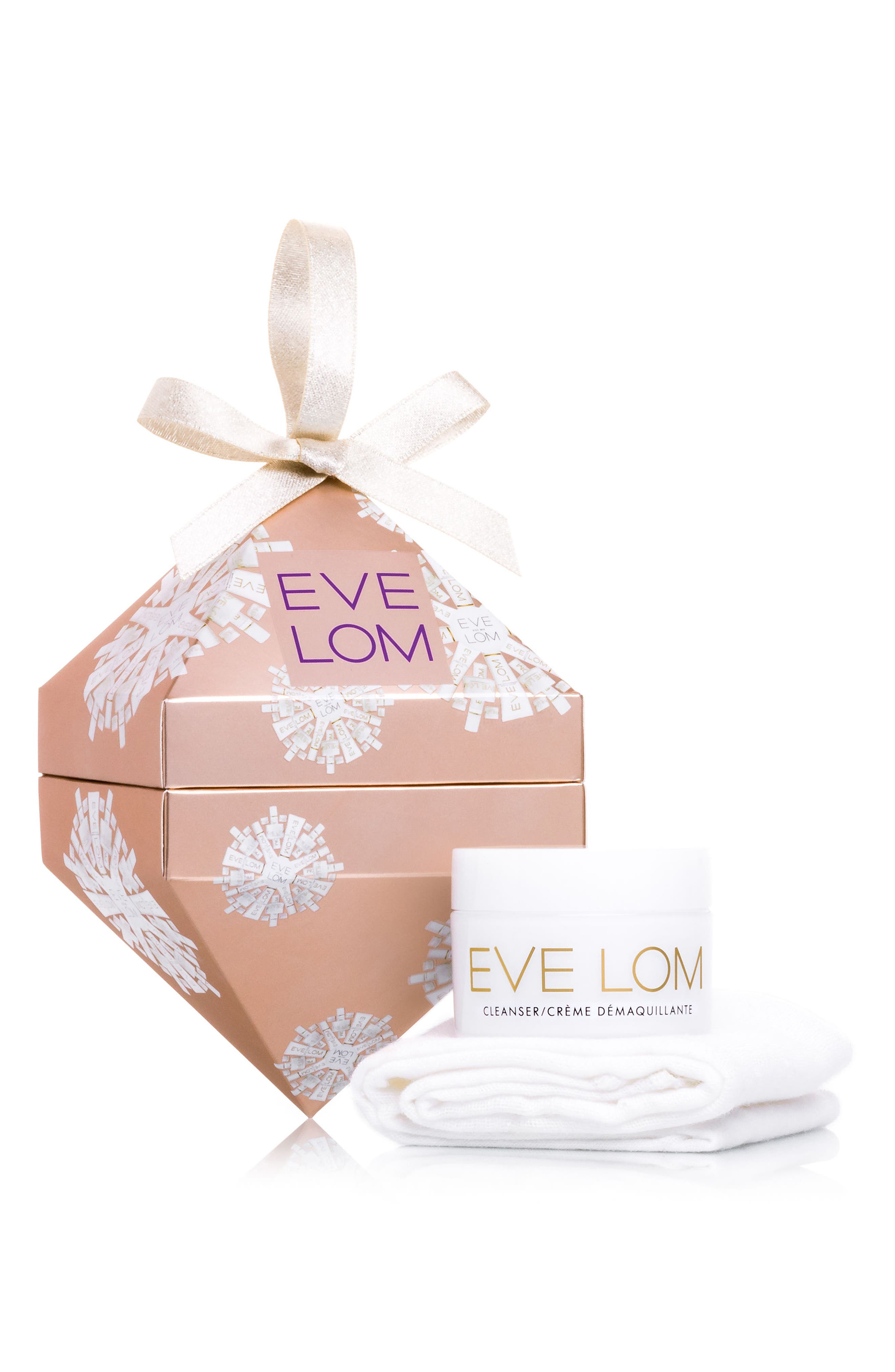 SPACE.NK.apothecary EVE LOM Cleanser & Muslin Cloth Bauble (Limited Edition)