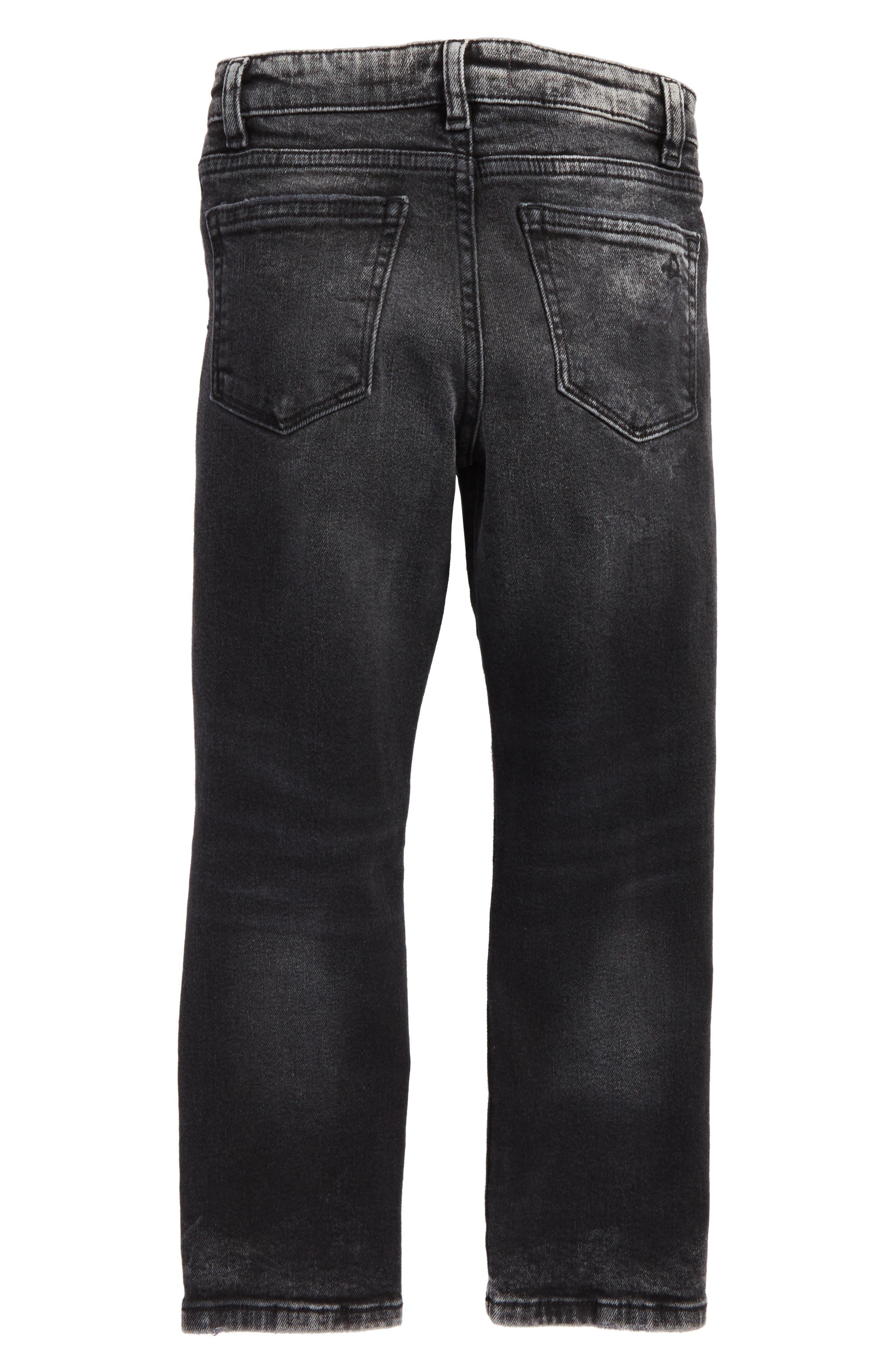 Alternate Image 2  - DL1961 Hawke Skinny Jeans (Toddler Boys & Little Boys)