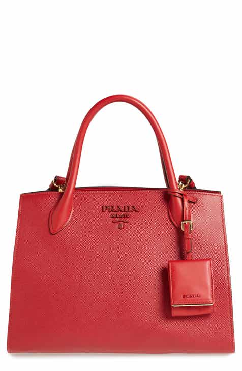 c55af0aa64c8 Prada Small Saffiano Leather Bucket Bag.  1