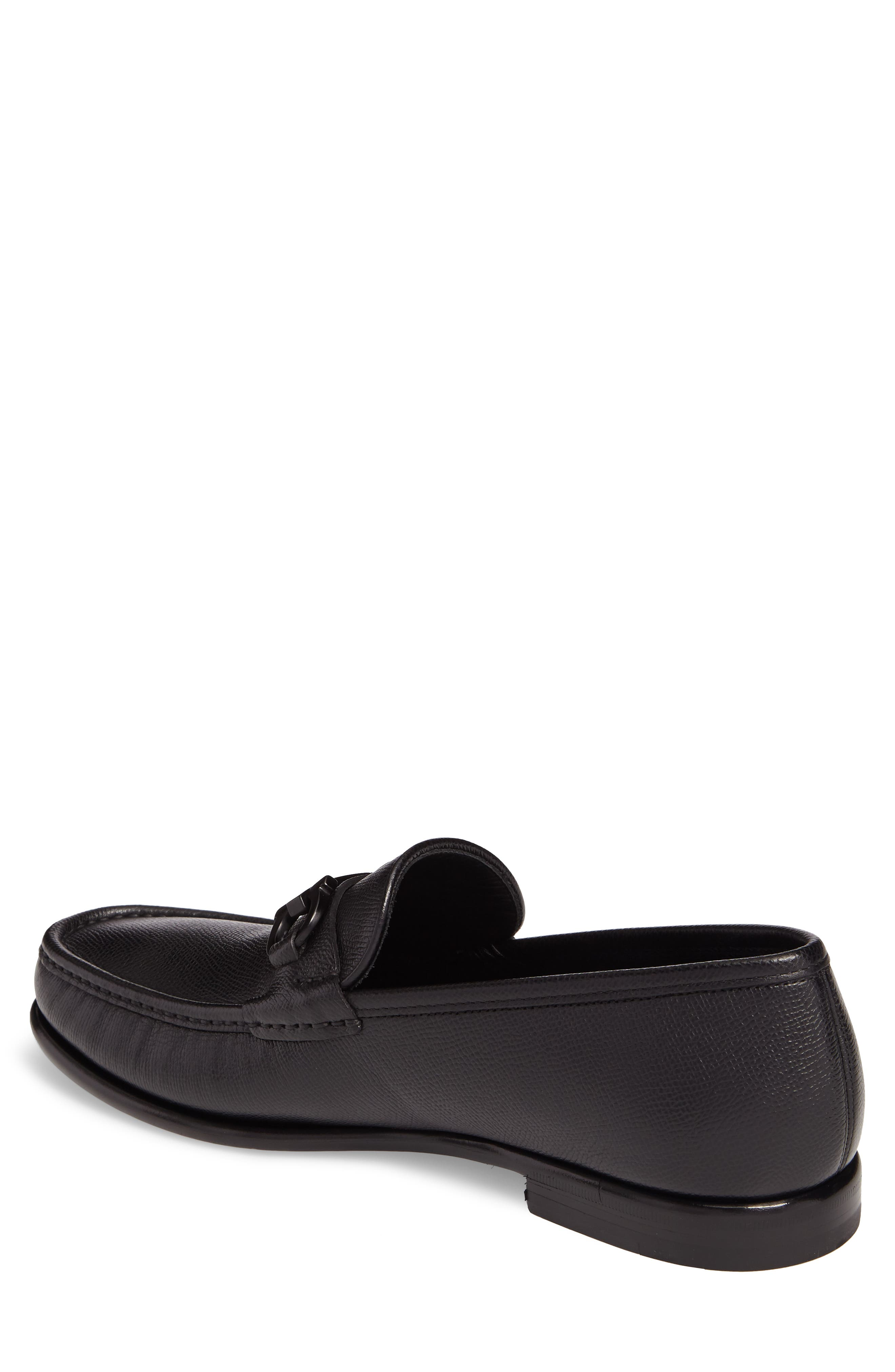 Crown Bit Loafer,                             Alternate thumbnail 2, color,                             Nero