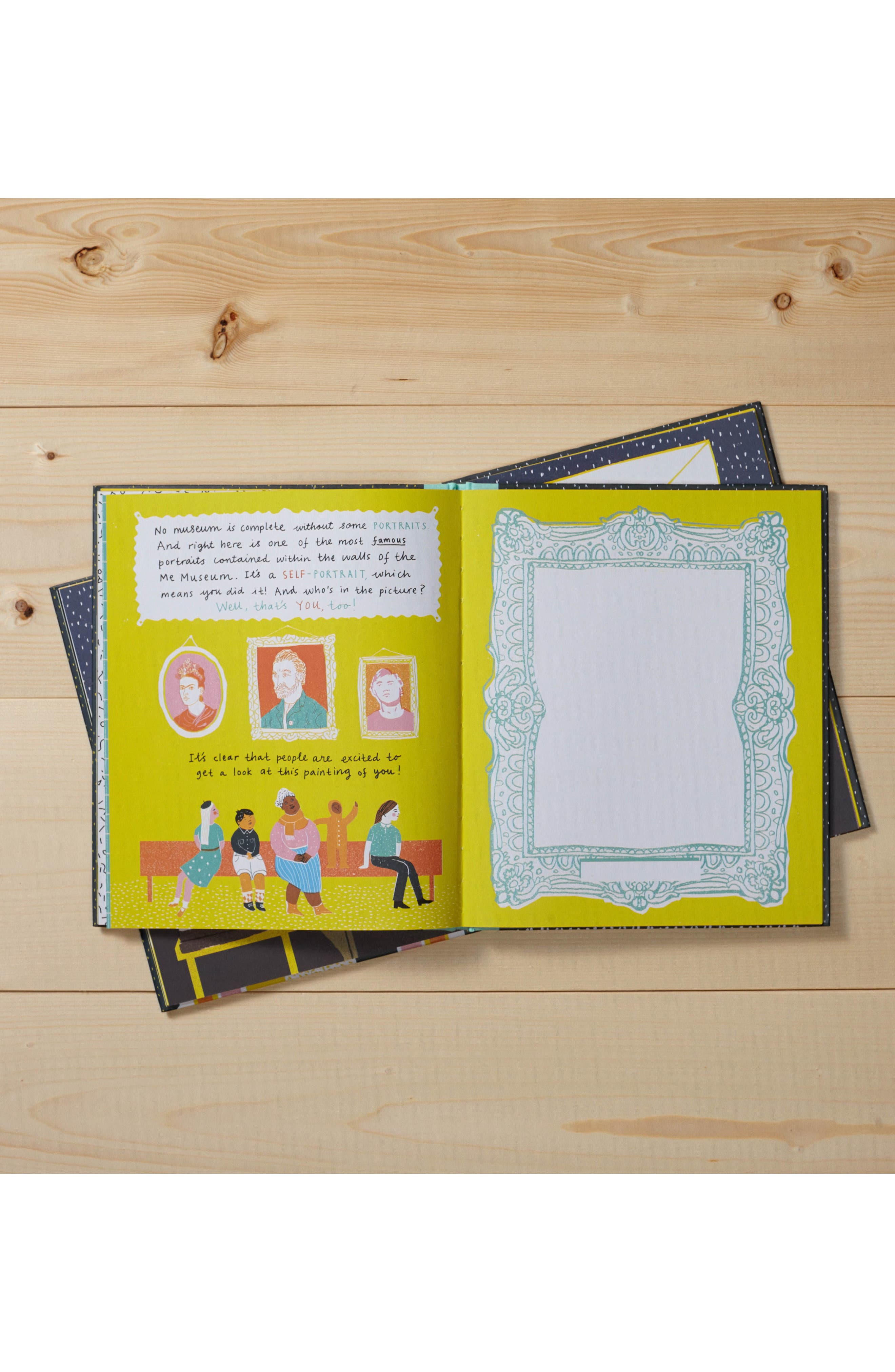 'Me Museum' - An Activity Book,                             Alternate thumbnail 3, color,                             Yellow
