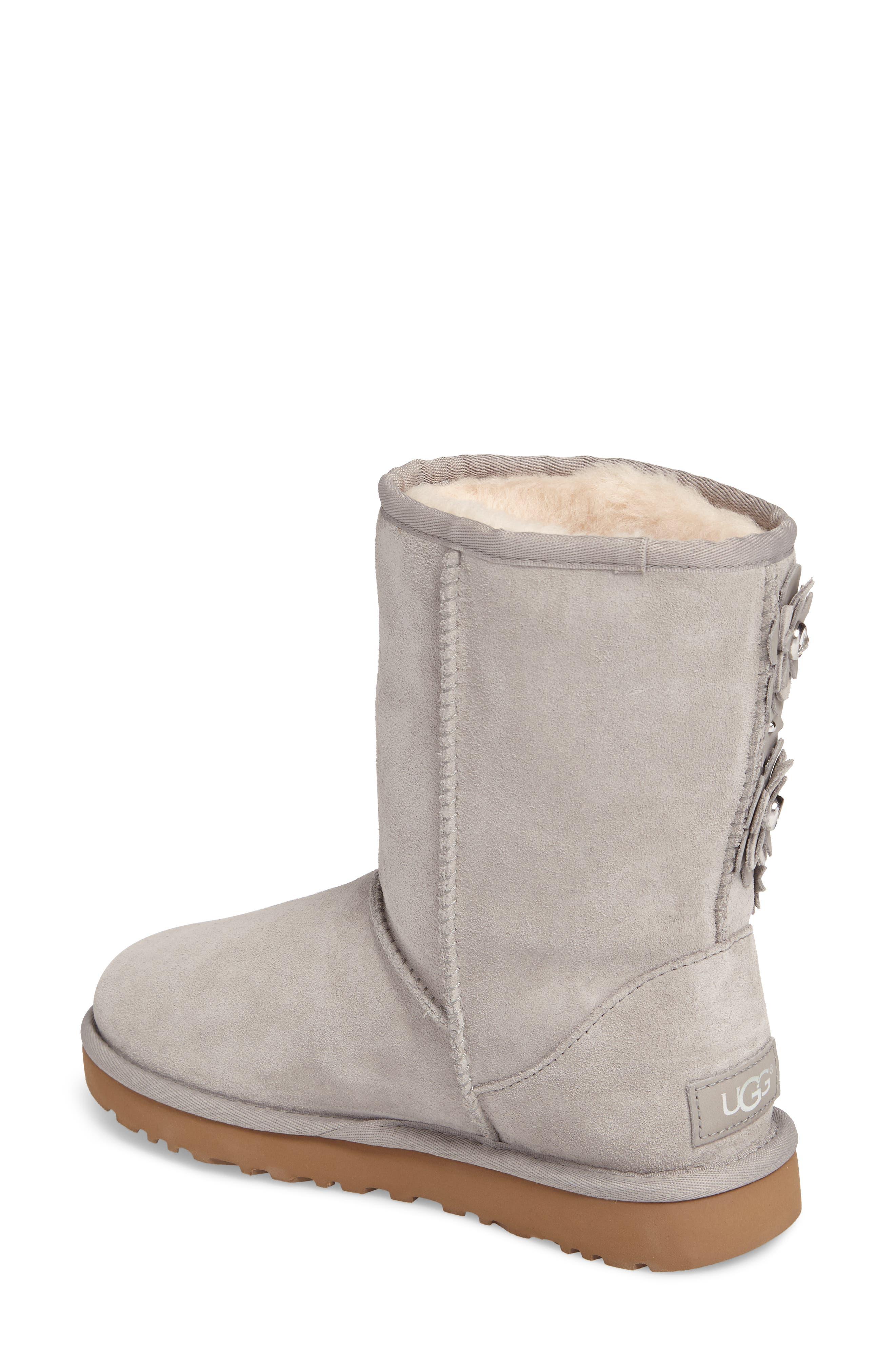 Alternate Image 2  - UGG® Classic Short Petal Boot (Women)