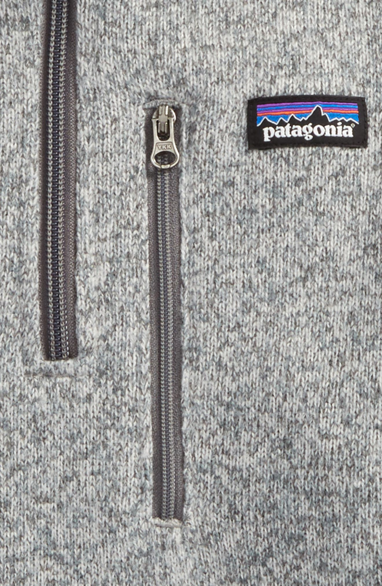 Better Sweater Quarter Zip Pullover,                             Alternate thumbnail 2, color,                             Stonewash