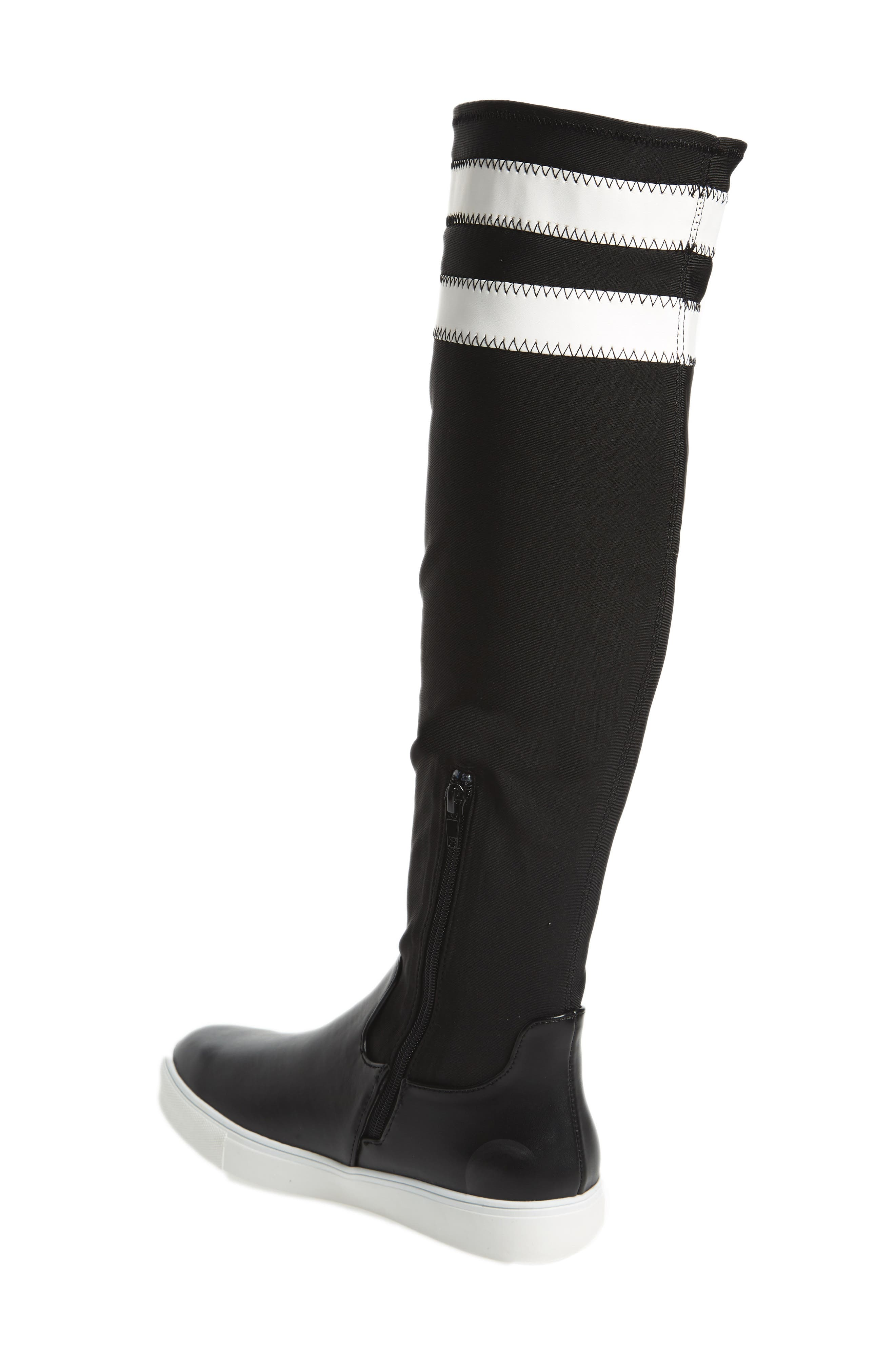 Melody Over the Knee Boot,                             Alternate thumbnail 2, color,                             Black