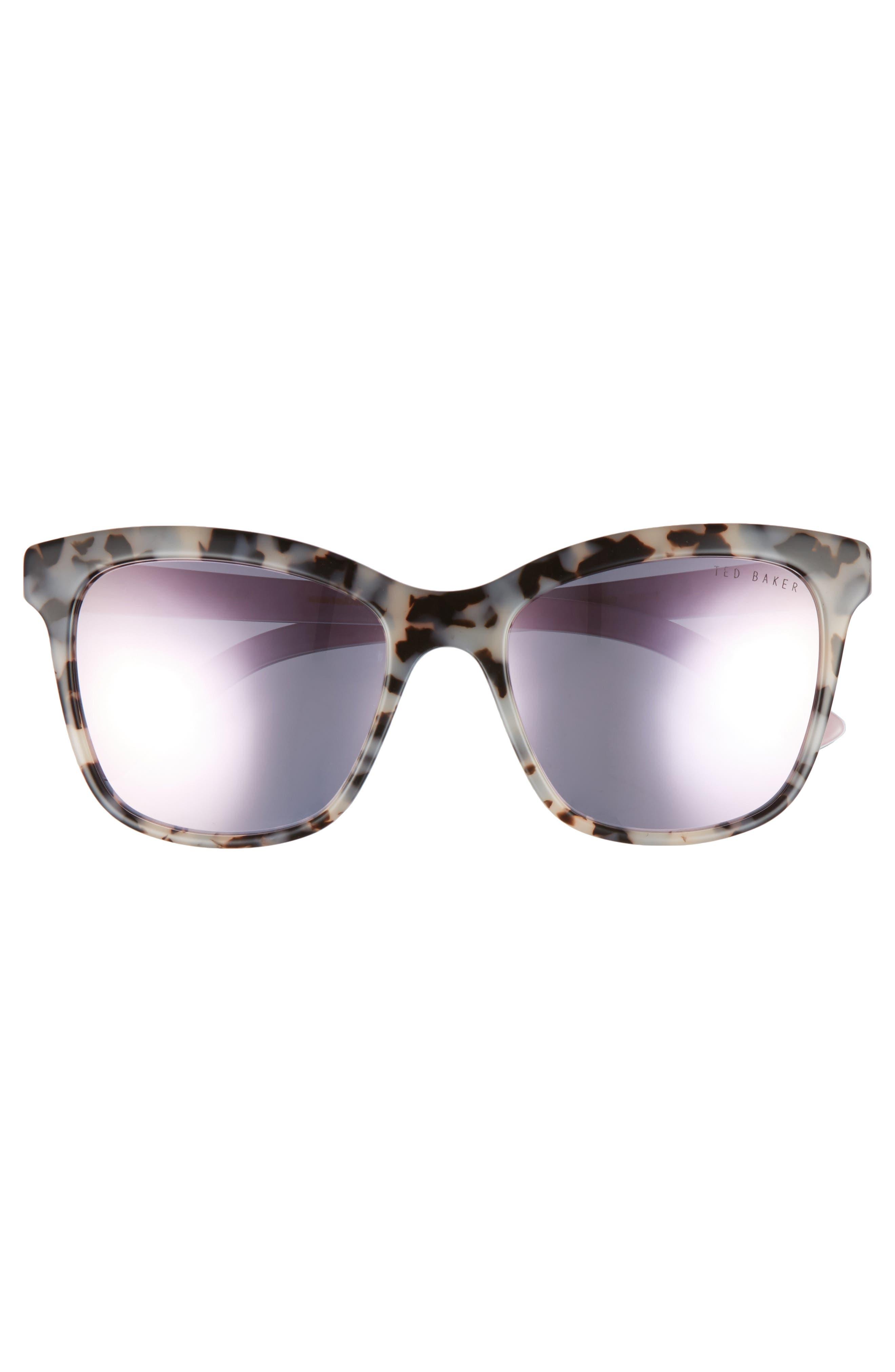 Alternate Image 3  - Ted Baker London 55mm Cat Eye Sunglasses