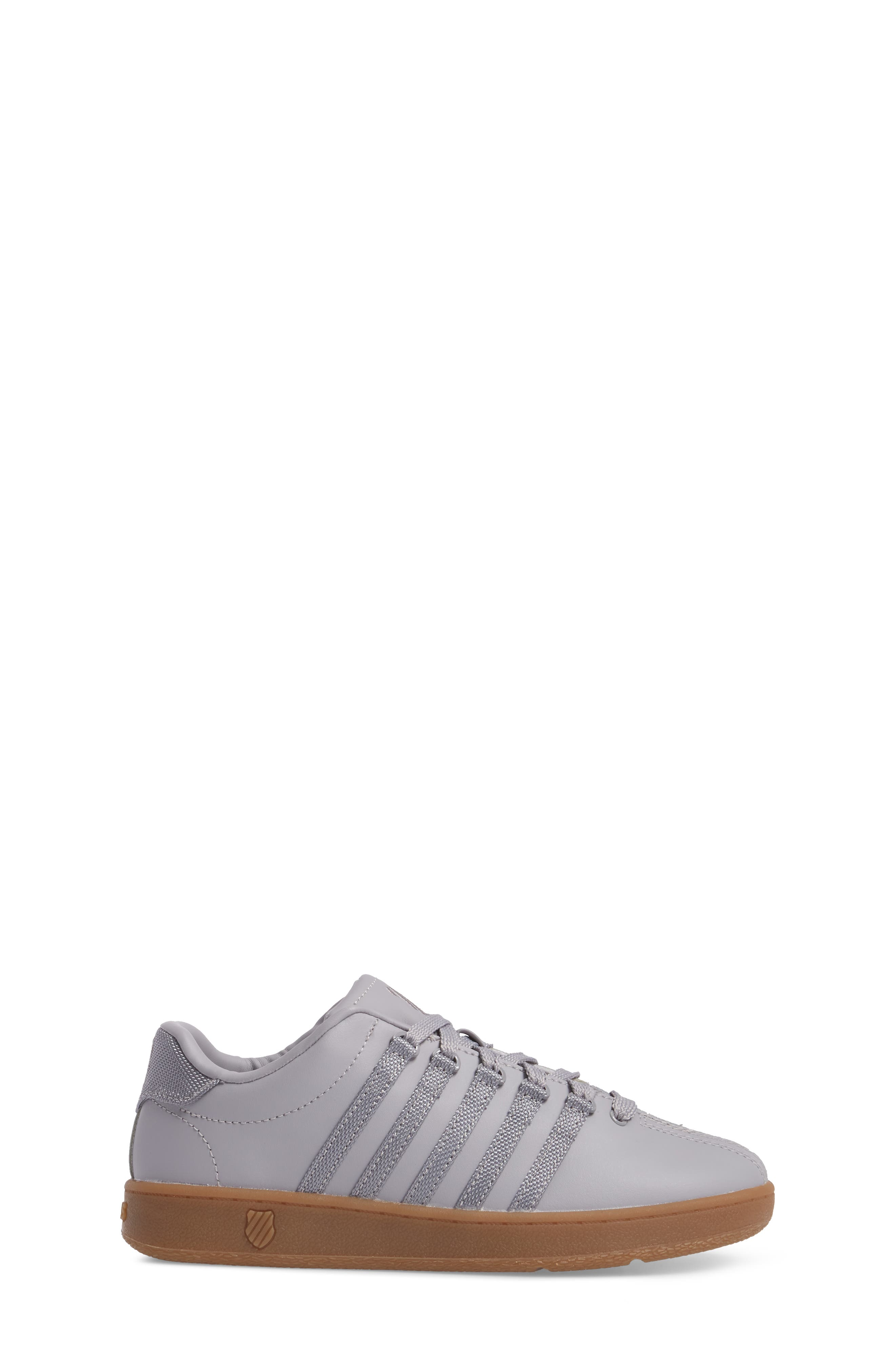 'Classic' Sneaker,                             Alternate thumbnail 3, color,                             Gray
