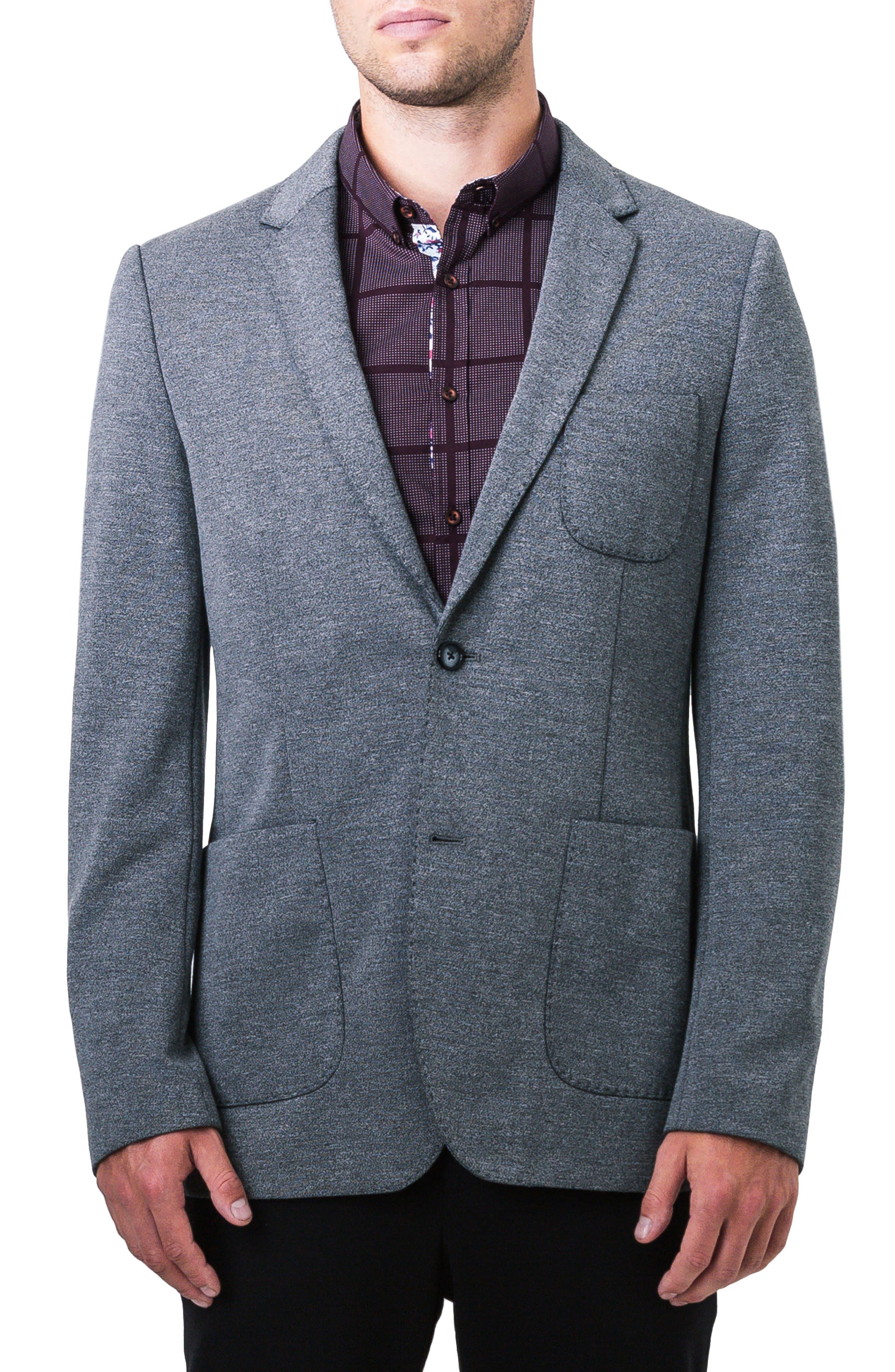 Ovierto Casual Blazer,                         Main,                         color, Light Grey