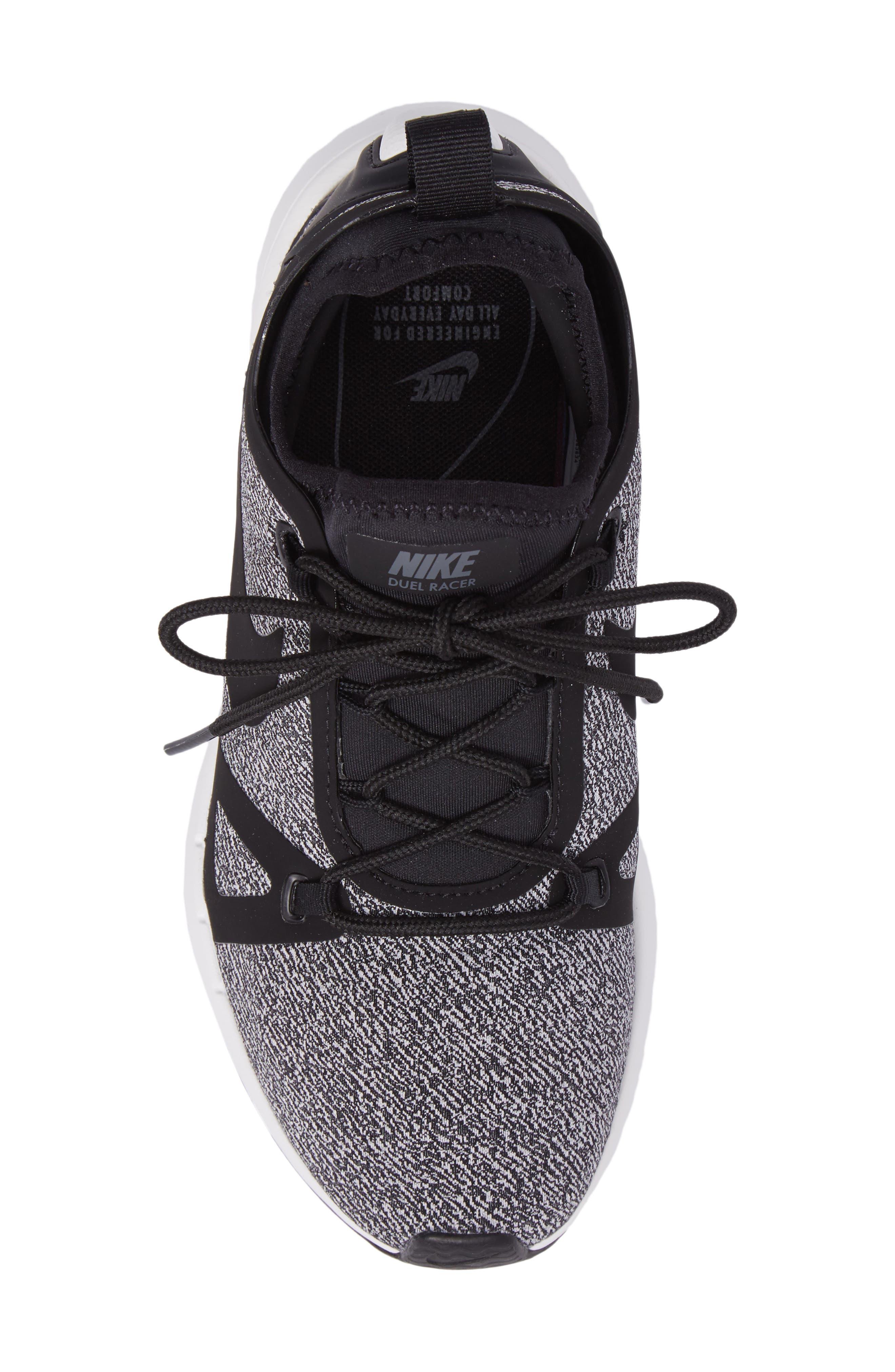 Alternate Image 5  - Nike Duel Racer Knit Sneaker (Women)