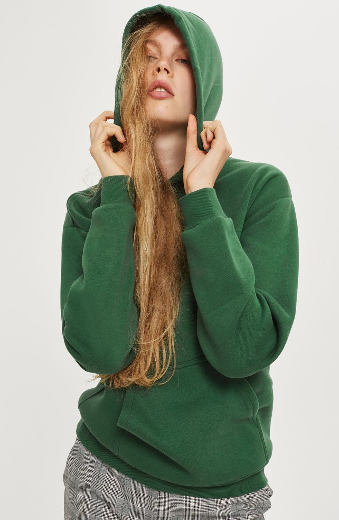 Alternate Image 4  - Topshop Oversize Hoodie