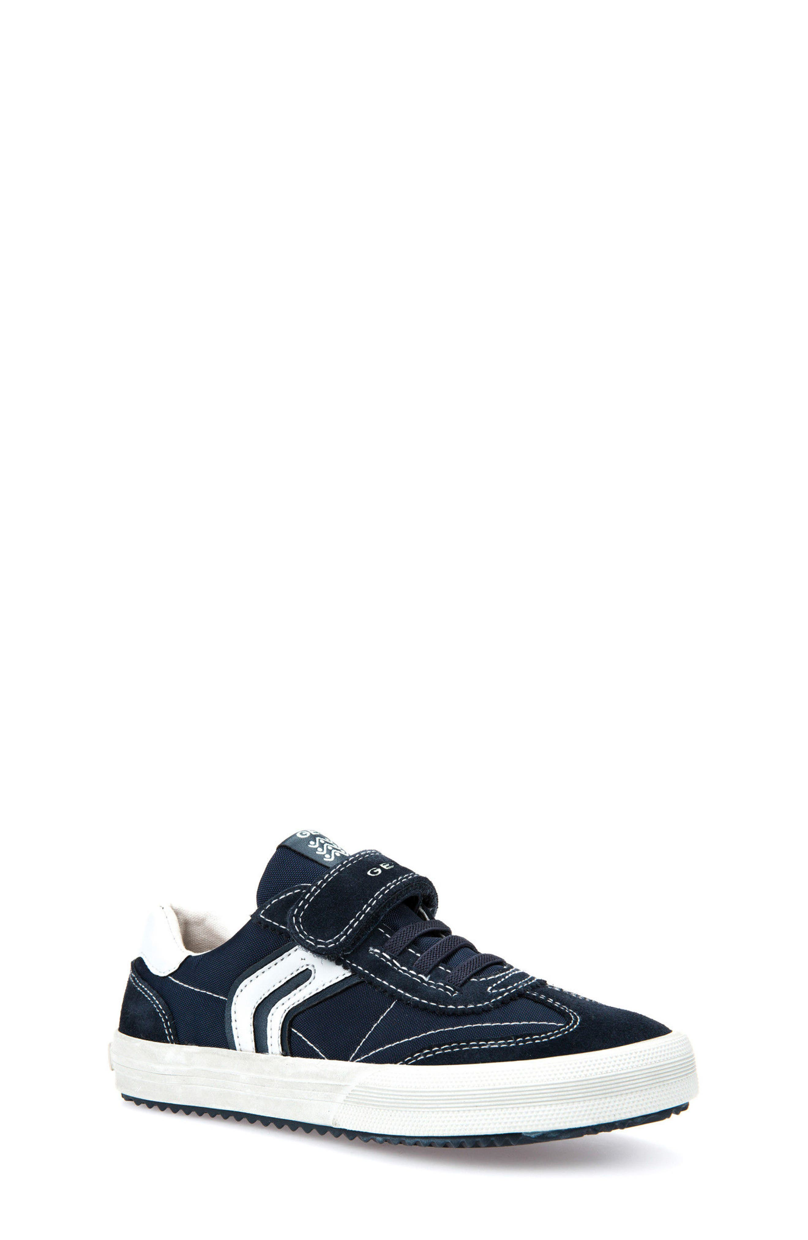 Alternate Image 1 Selected - Geox Alonisso Low Top Sneaker (Toddler, Little Kid & Big Kid)