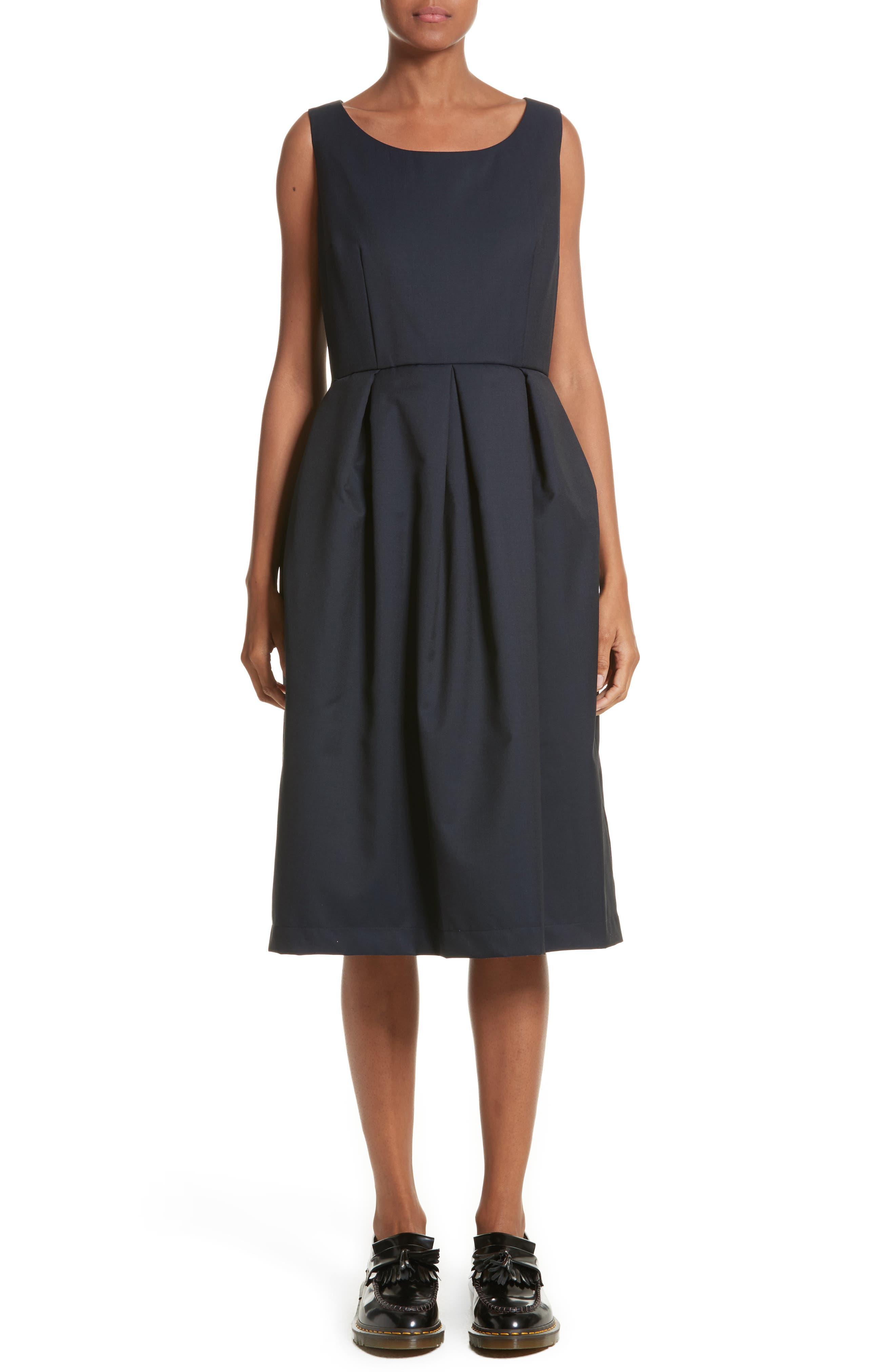 Main Image - Comme de Garçons Sleeveless Fit & Flare Dress
