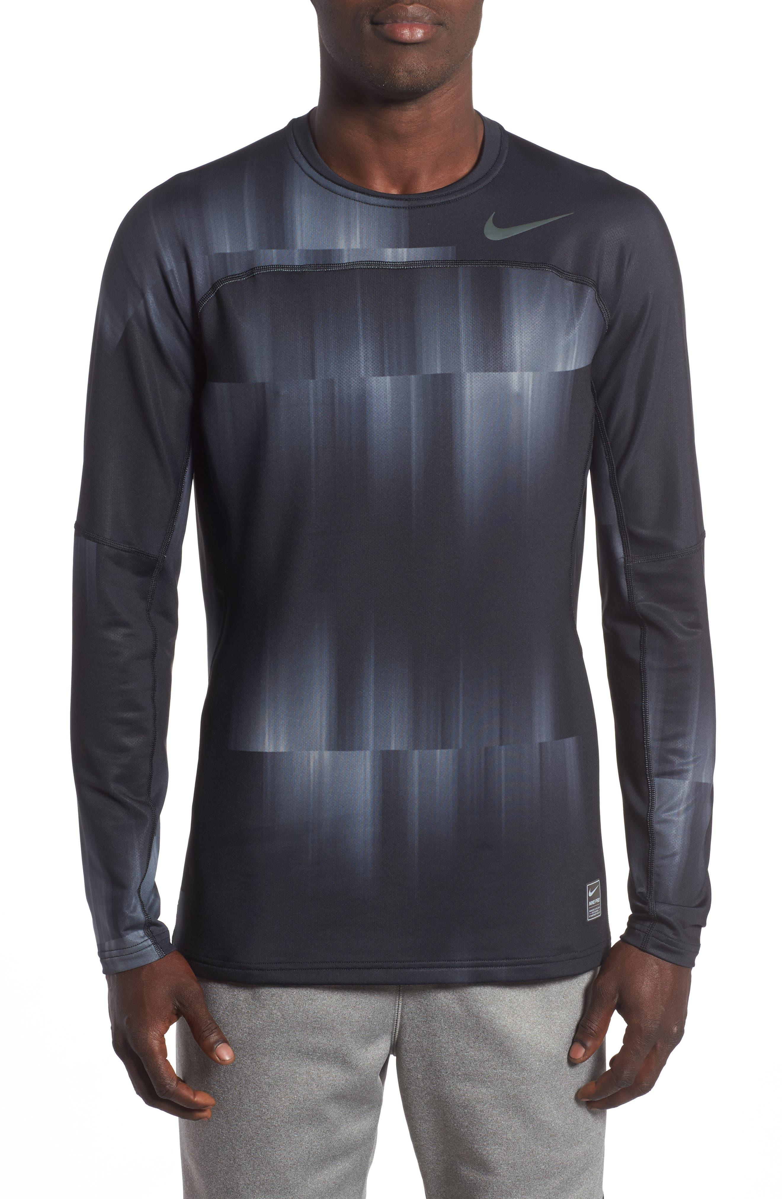 Alternate Image 1 Selected - Nike Pro HyperWarm Training T-Shirt