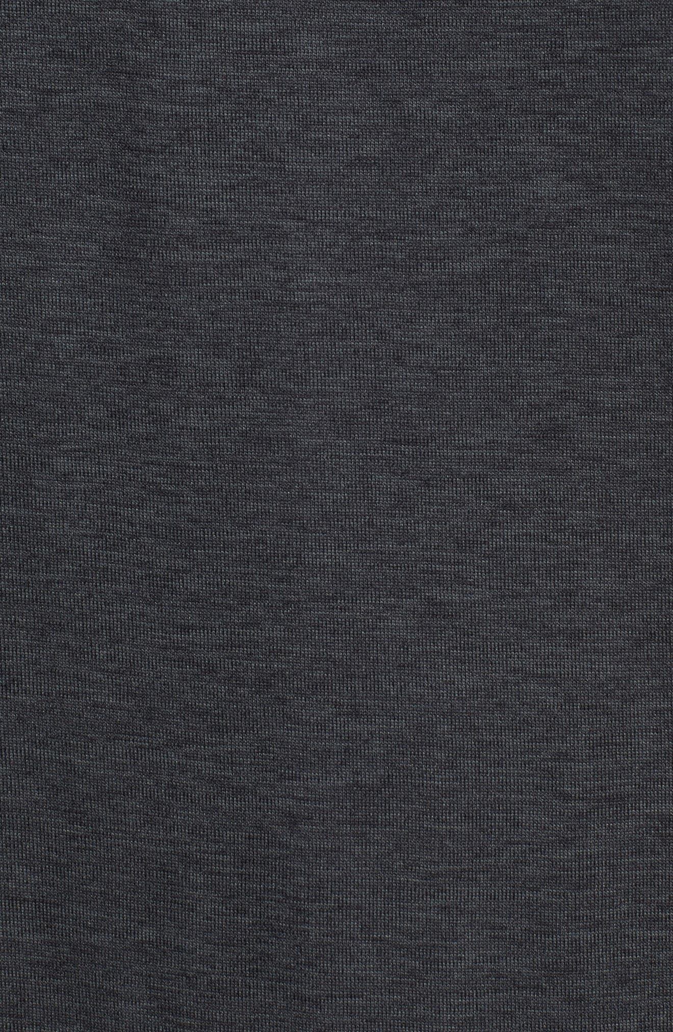 Long Sleeve Training T-Shirt,                             Alternate thumbnail 5, color,                             Black/ Anthracite/ Hematite