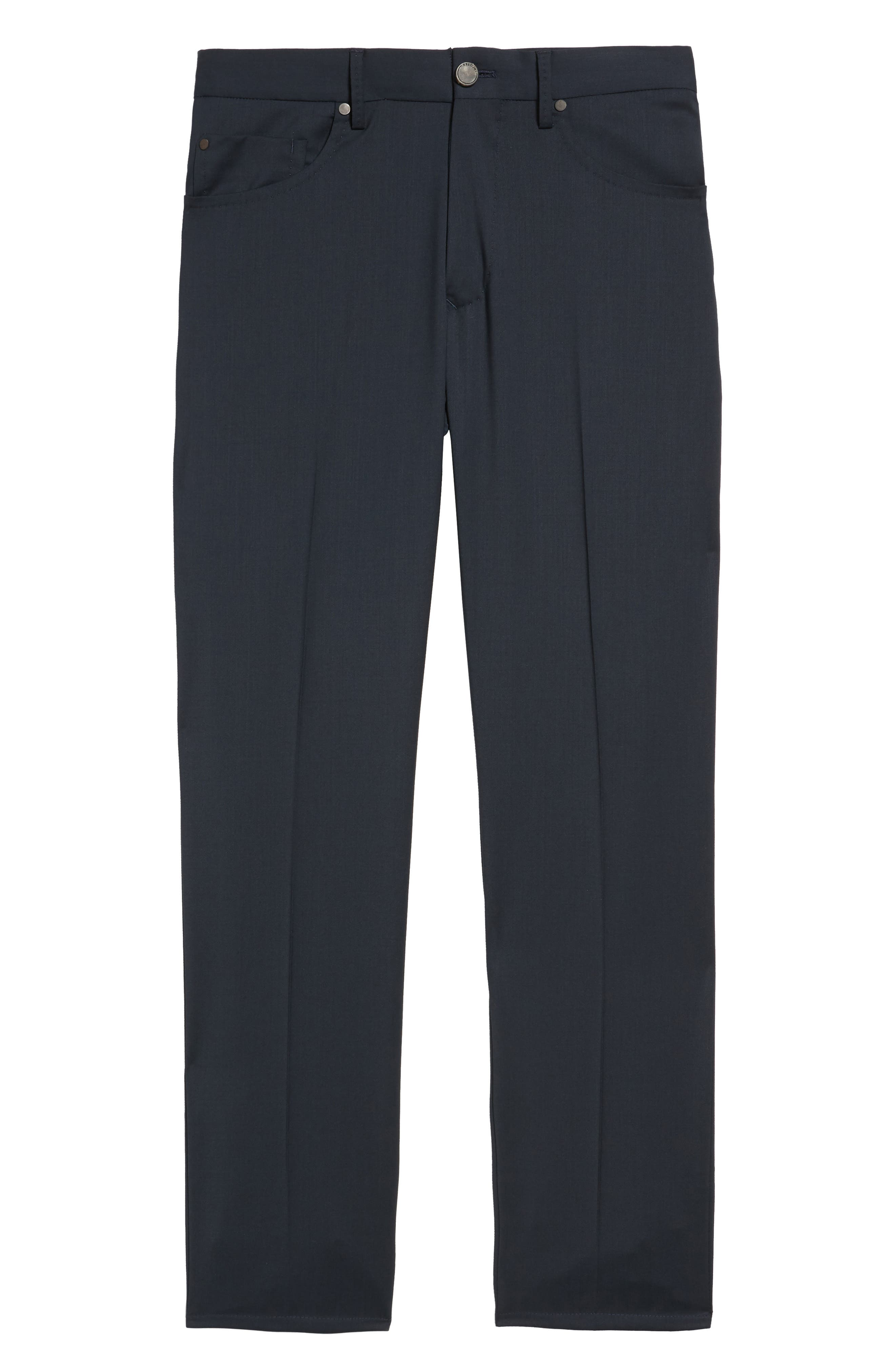 Alternate Image 6  - Incotex Five-Pocket Stretch Wool Pants