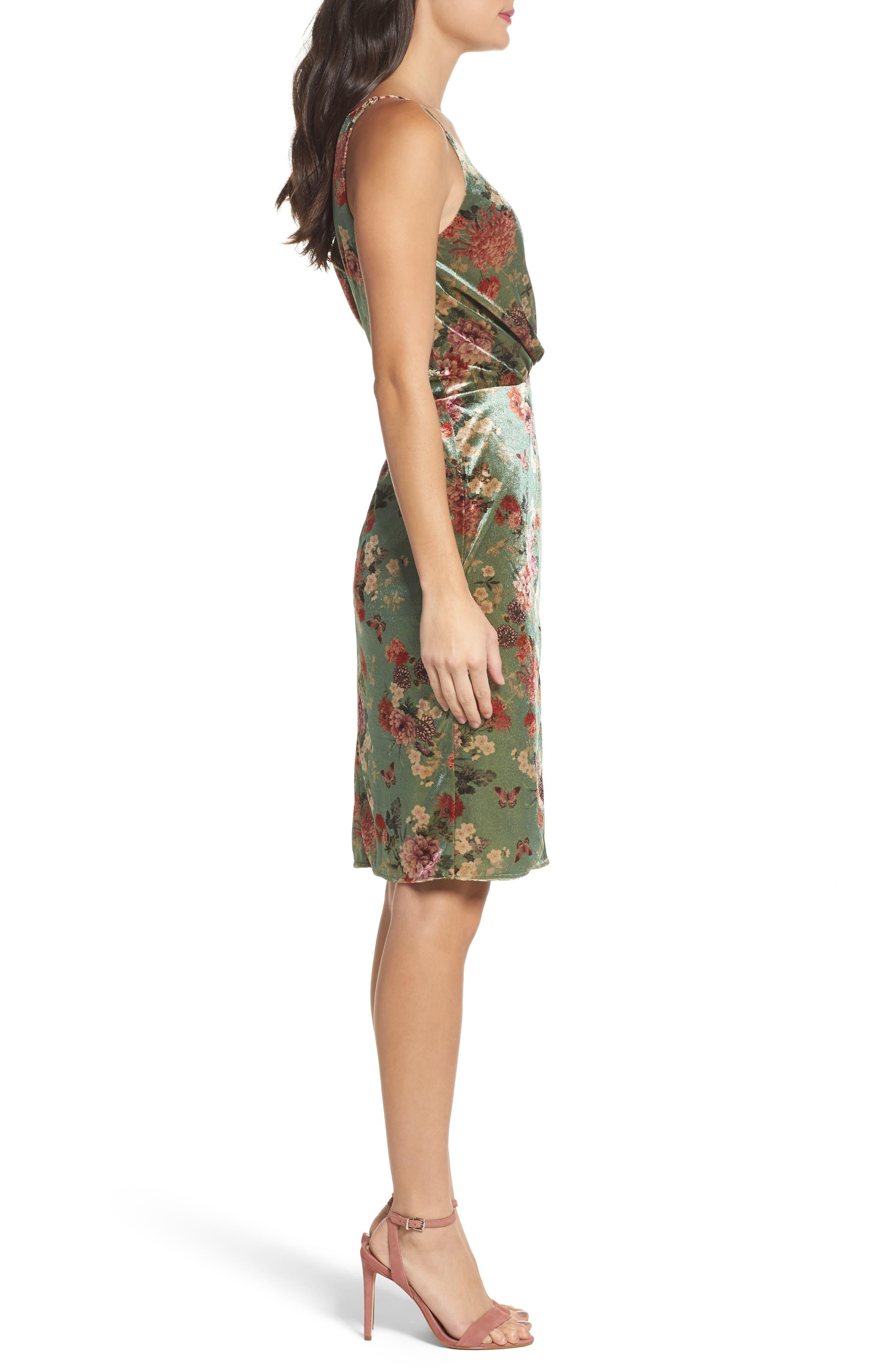 Alternate Image 3  - Adelyn Rae Adela Twist Sheath Dress