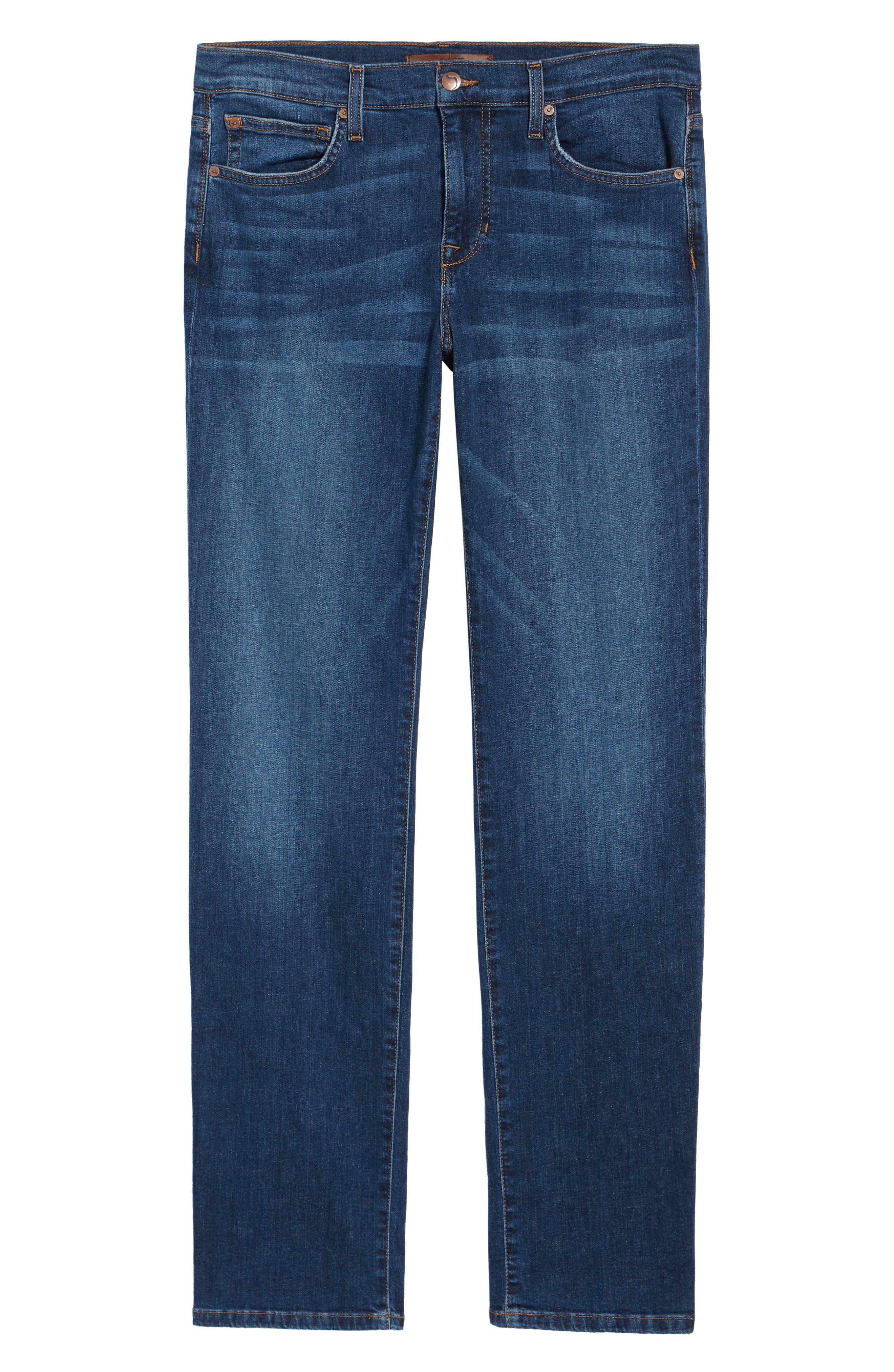 Brixton Slim Straight Leg Jeans,                             Alternate thumbnail 6, color,                             Bradlee