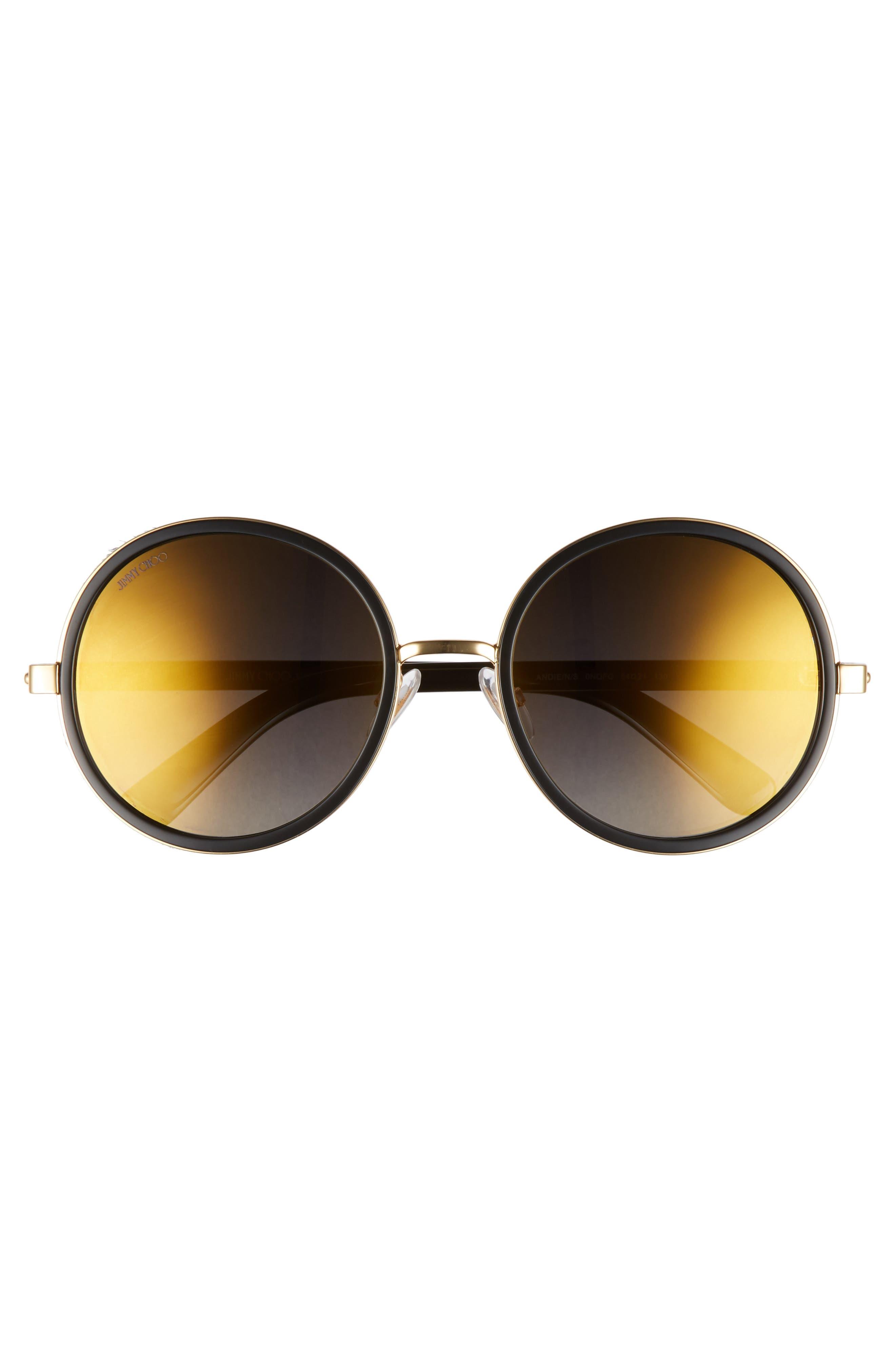 Alternate Image 3  - Jimmy Choo Andiens 54mm Round Sunglasses