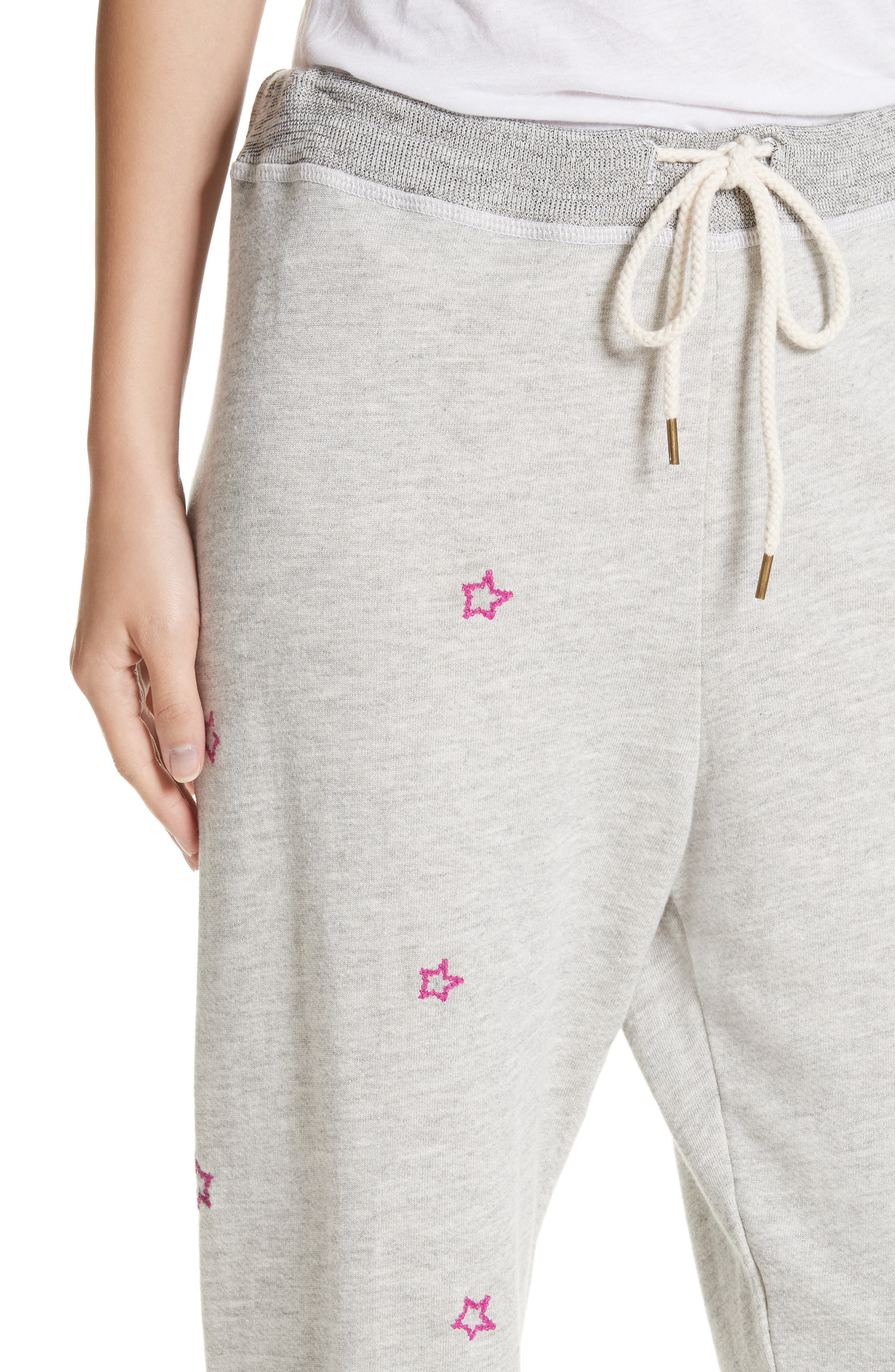 Alternate Image 4  - THE GREAT. The Cropped Sweatpants