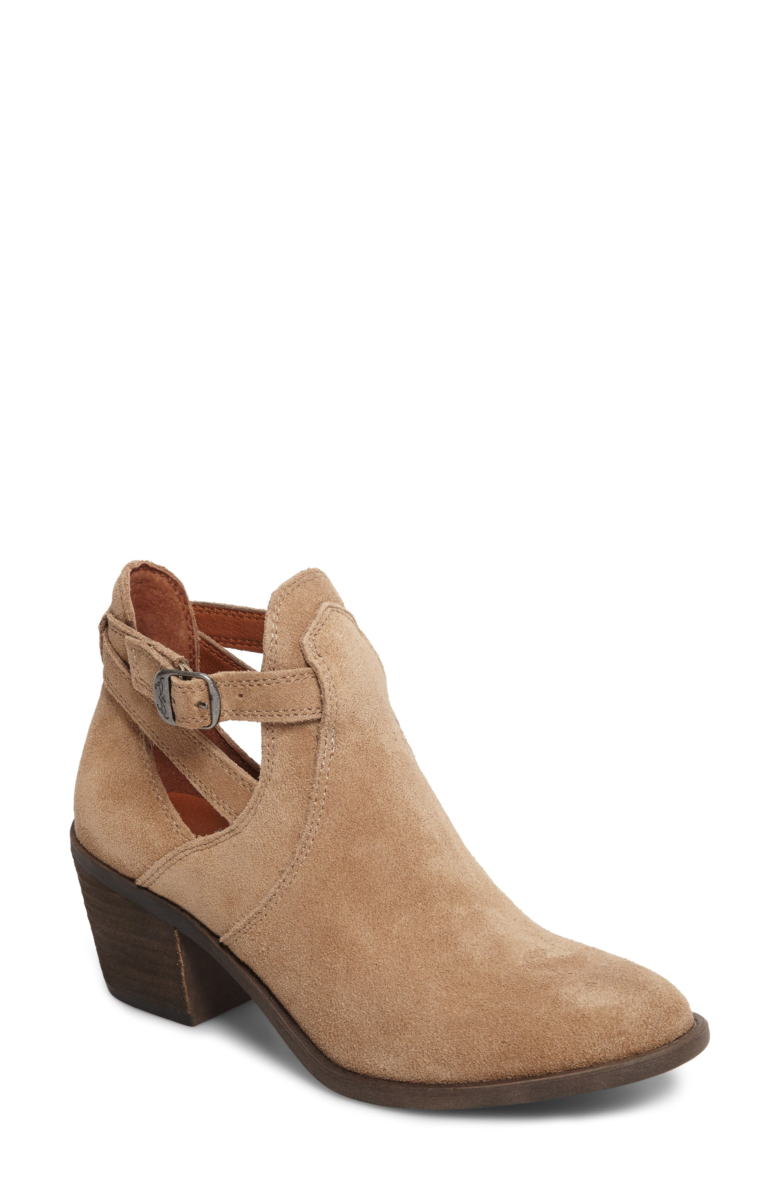 Alternate Image 1 Selected - Lucky Brand Nandita Cutout Bootie (Women)