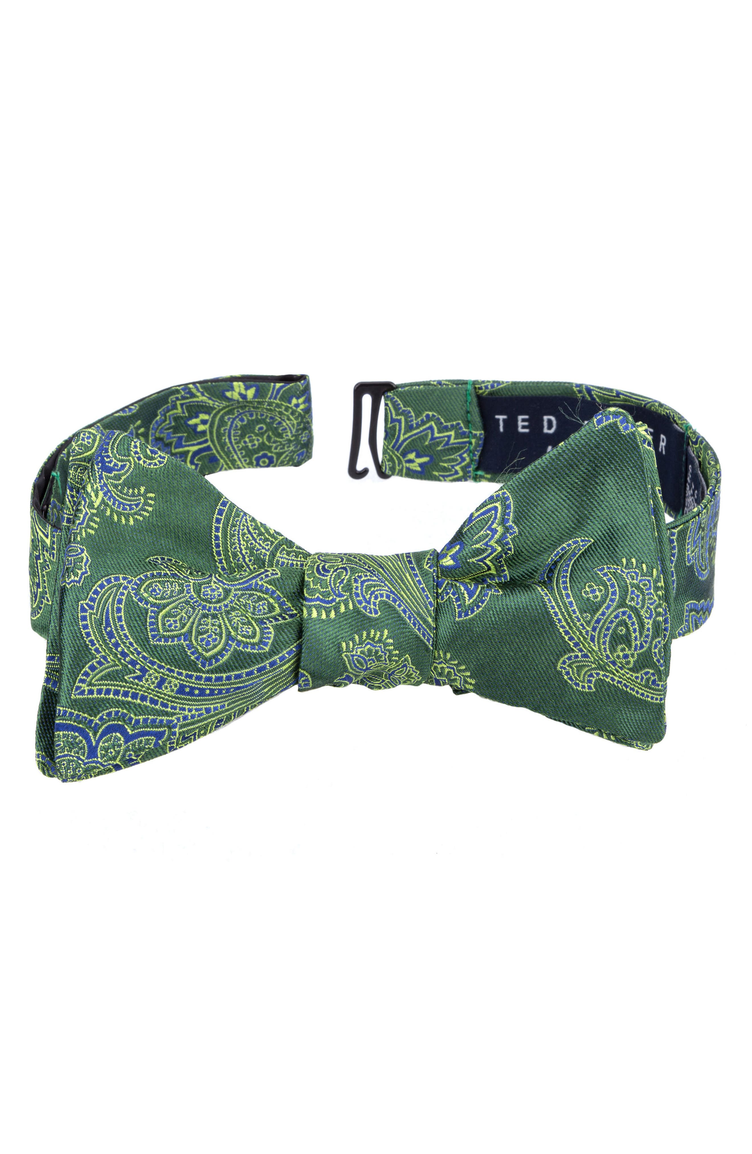 Ted Baker London Downtown Paisley Silk Bow Tie