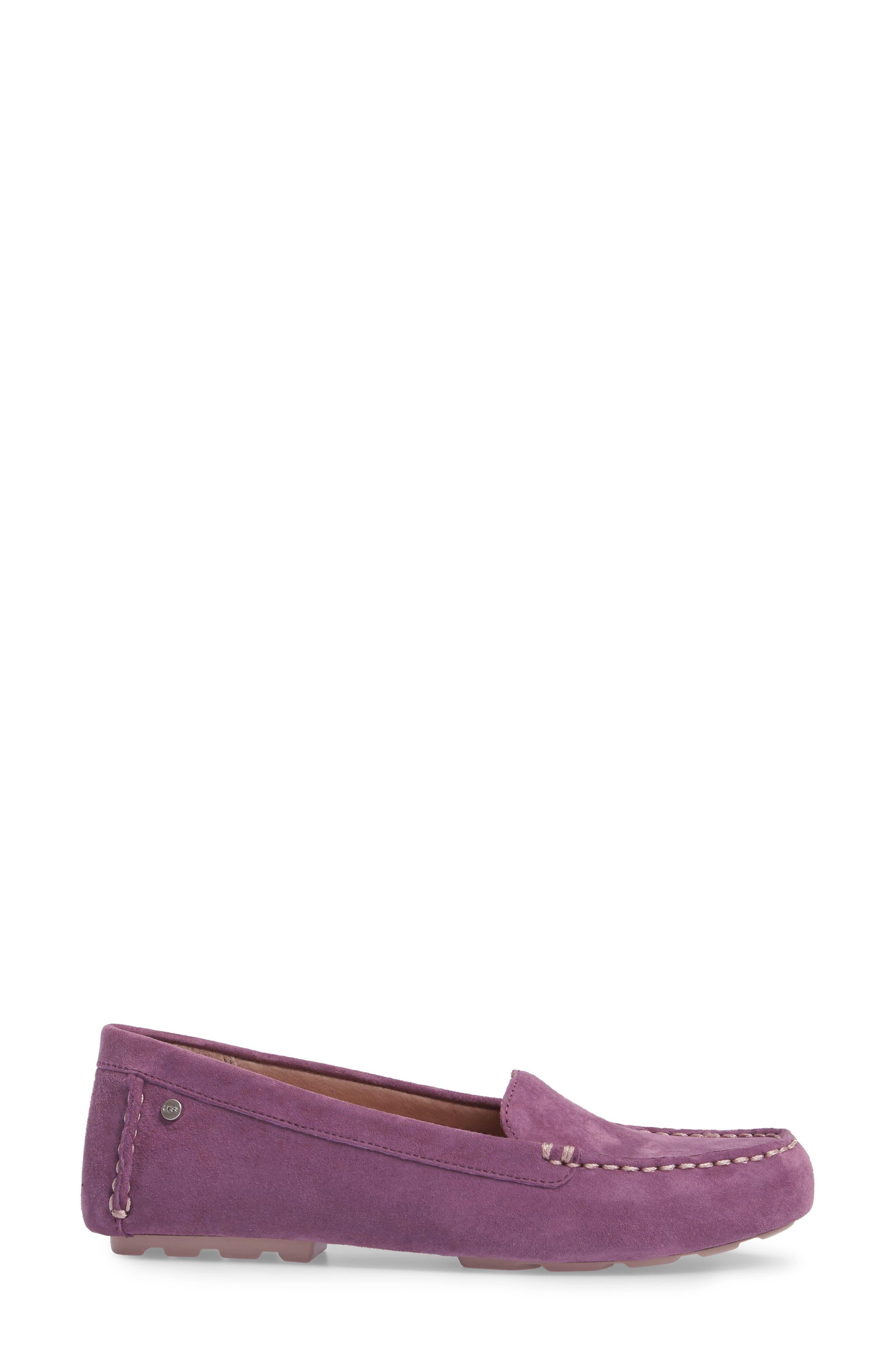 Alternate Image 3  - UGG® Milana Moc Toe Flat (Women)