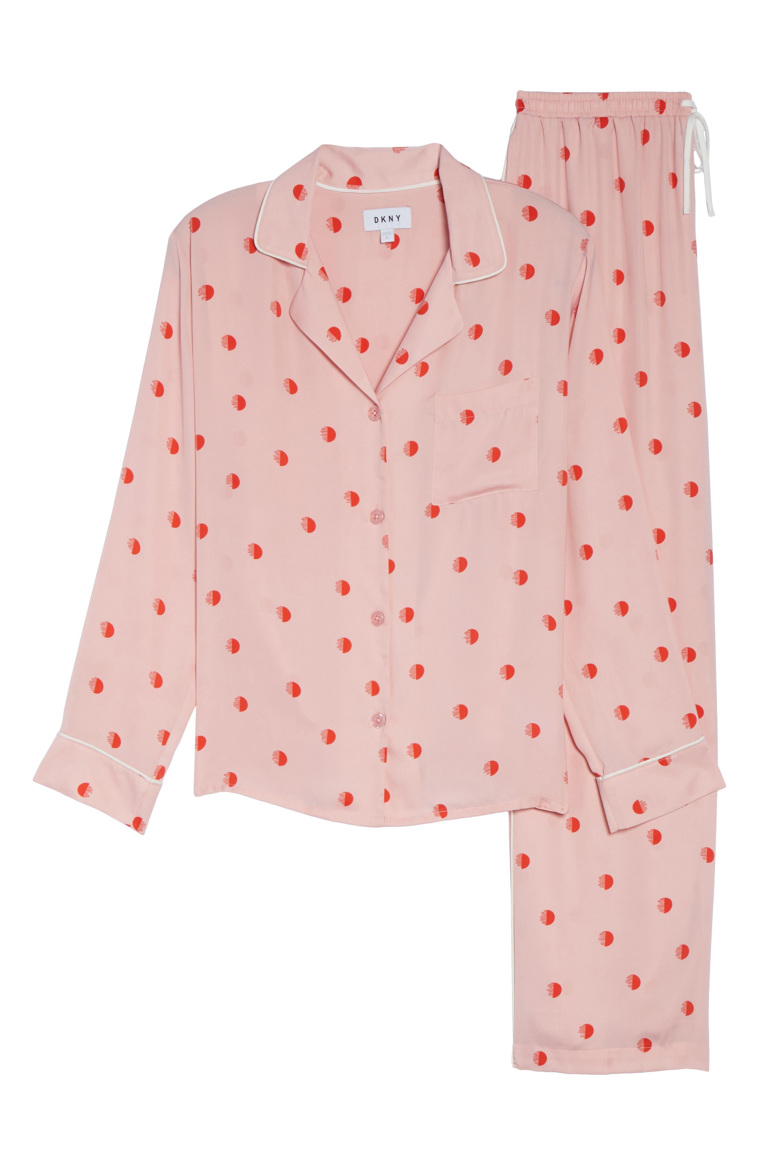 Alternate Image 6  - DKNY Washed Satin Pajamas