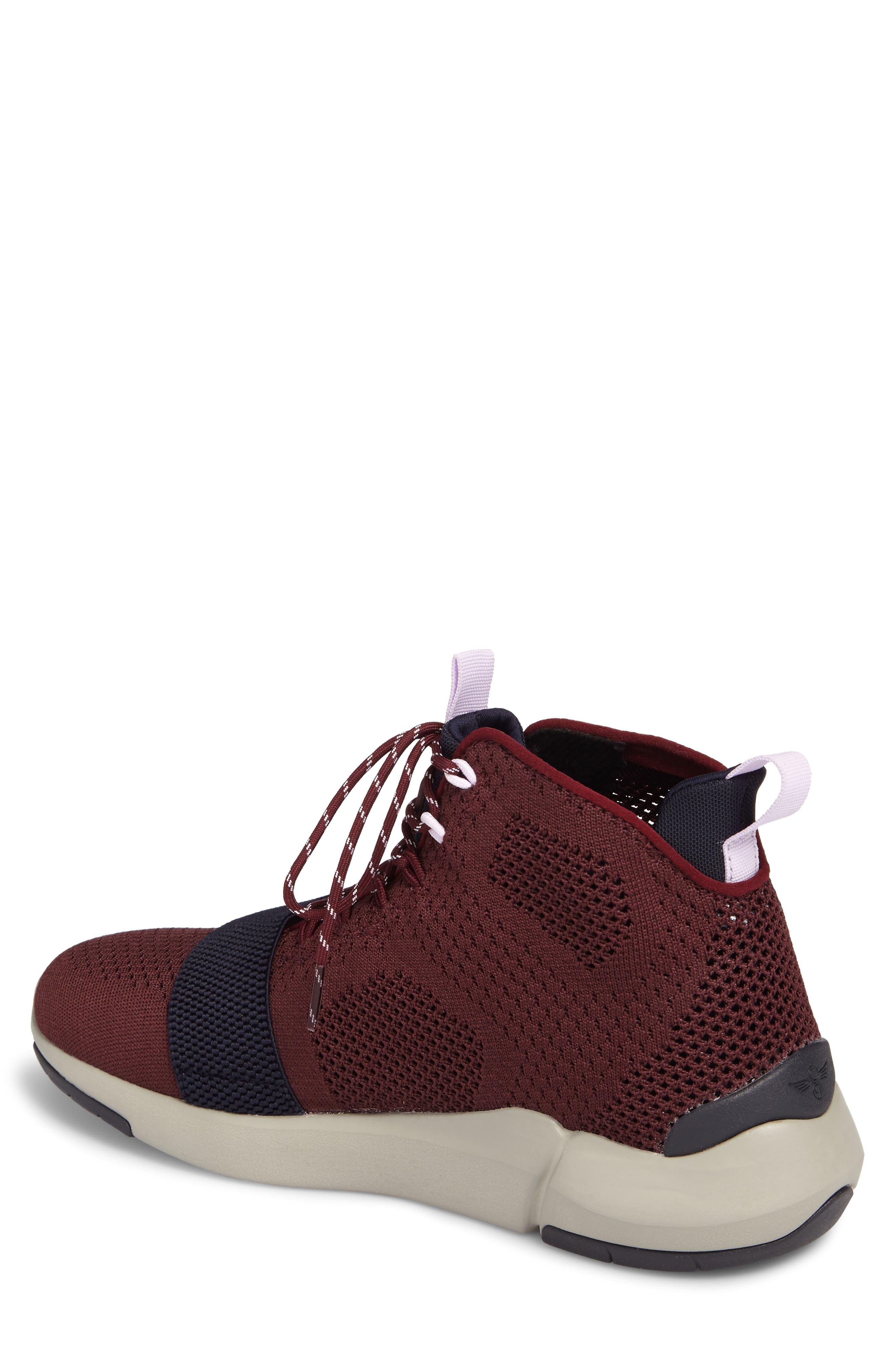 Modica Sneaker,                             Alternate thumbnail 2, color,                             Dark Burgundy Navy
