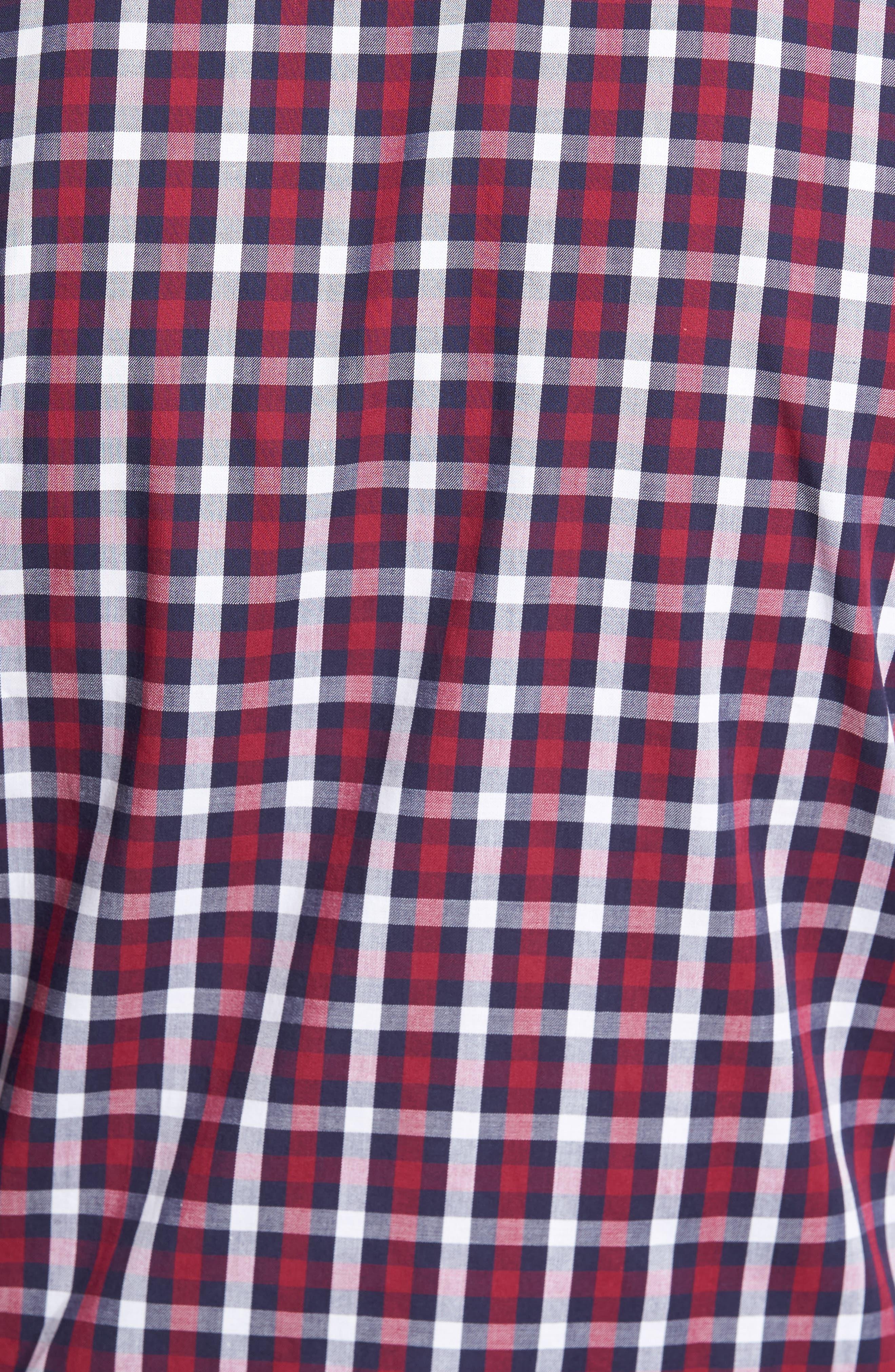 Alternate Image 5  - TailorByrd Covington Check Sport Shirt