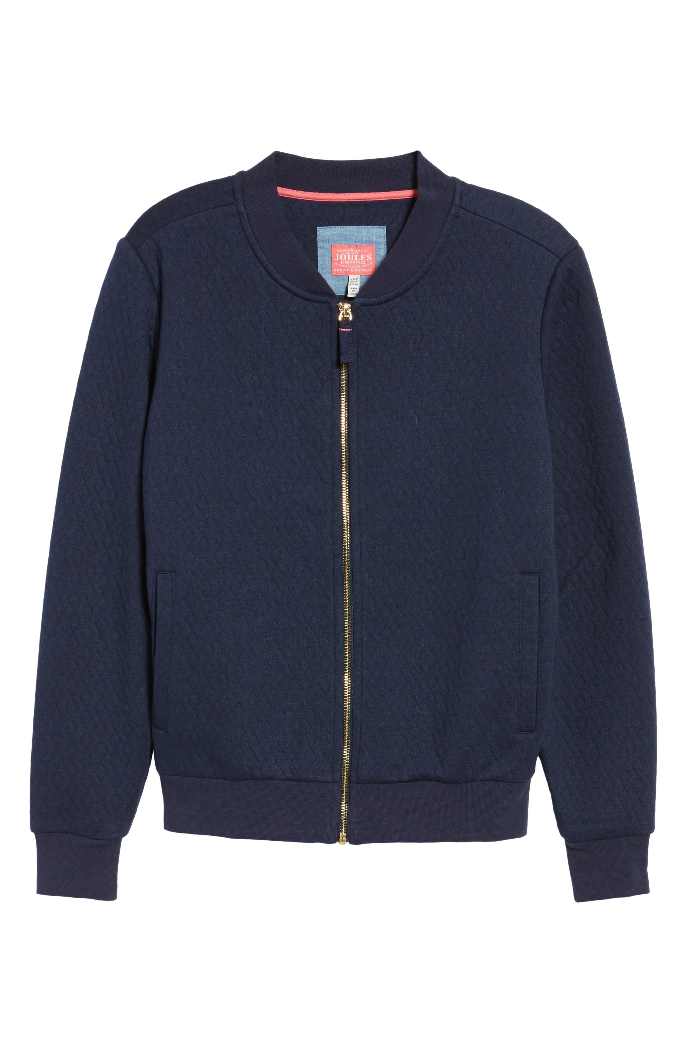 Alternate Image 6  - Joules Millie Bomber Sweatshirt Jacket